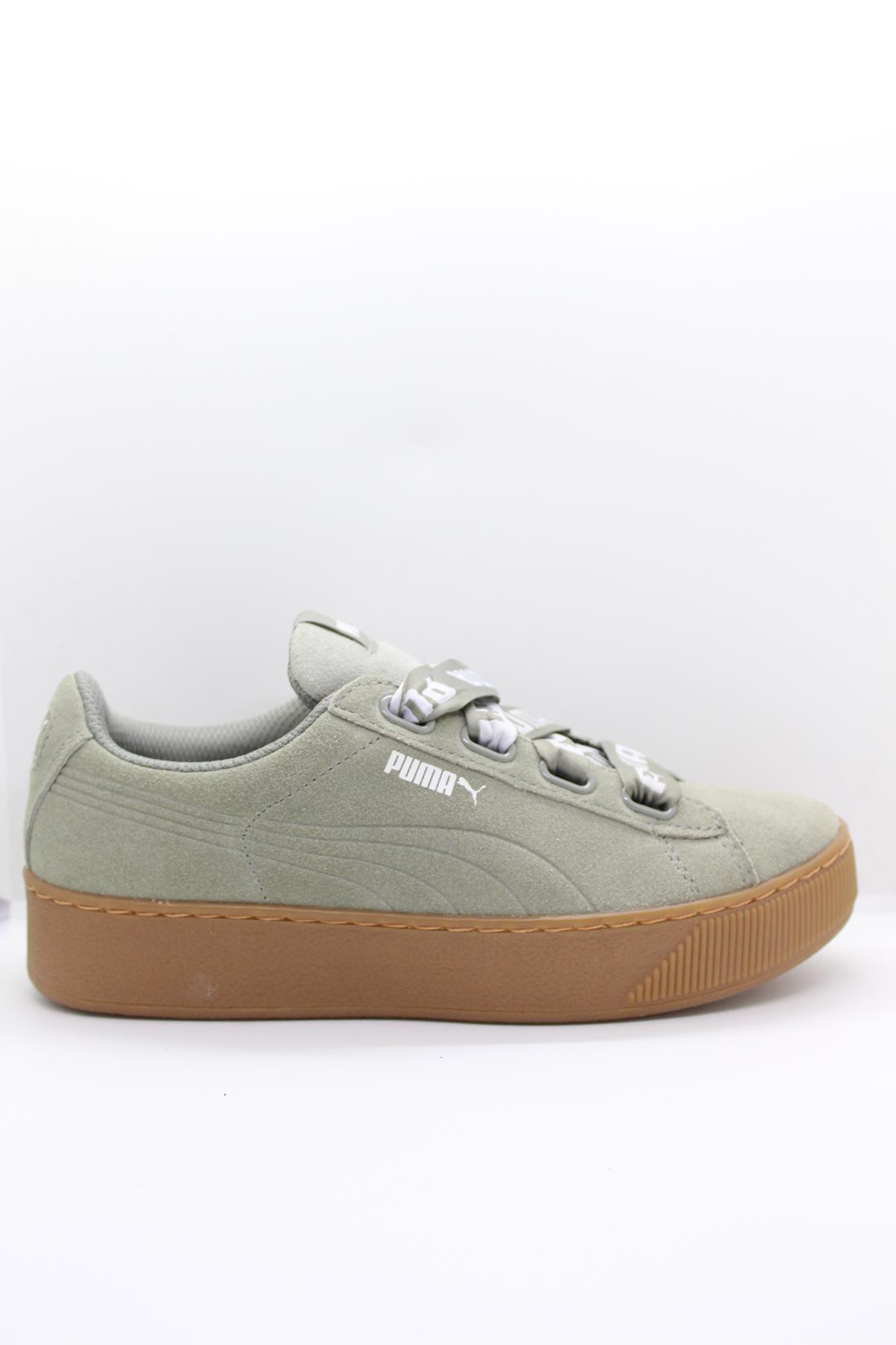 Puma 6531403 Yeşil Kadın Spor Ayakkabı