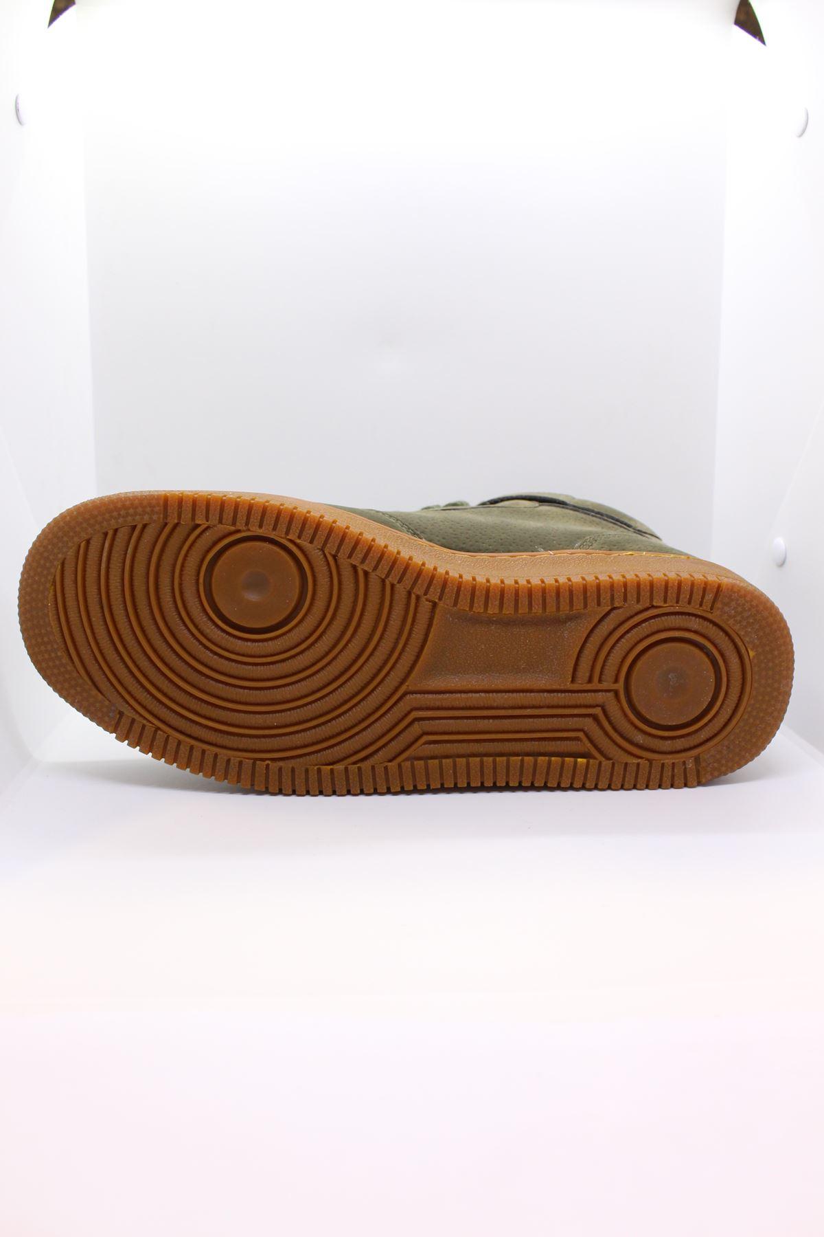 Jump 16309 Boğazlı Haki Erkek Spor Ayakkabı