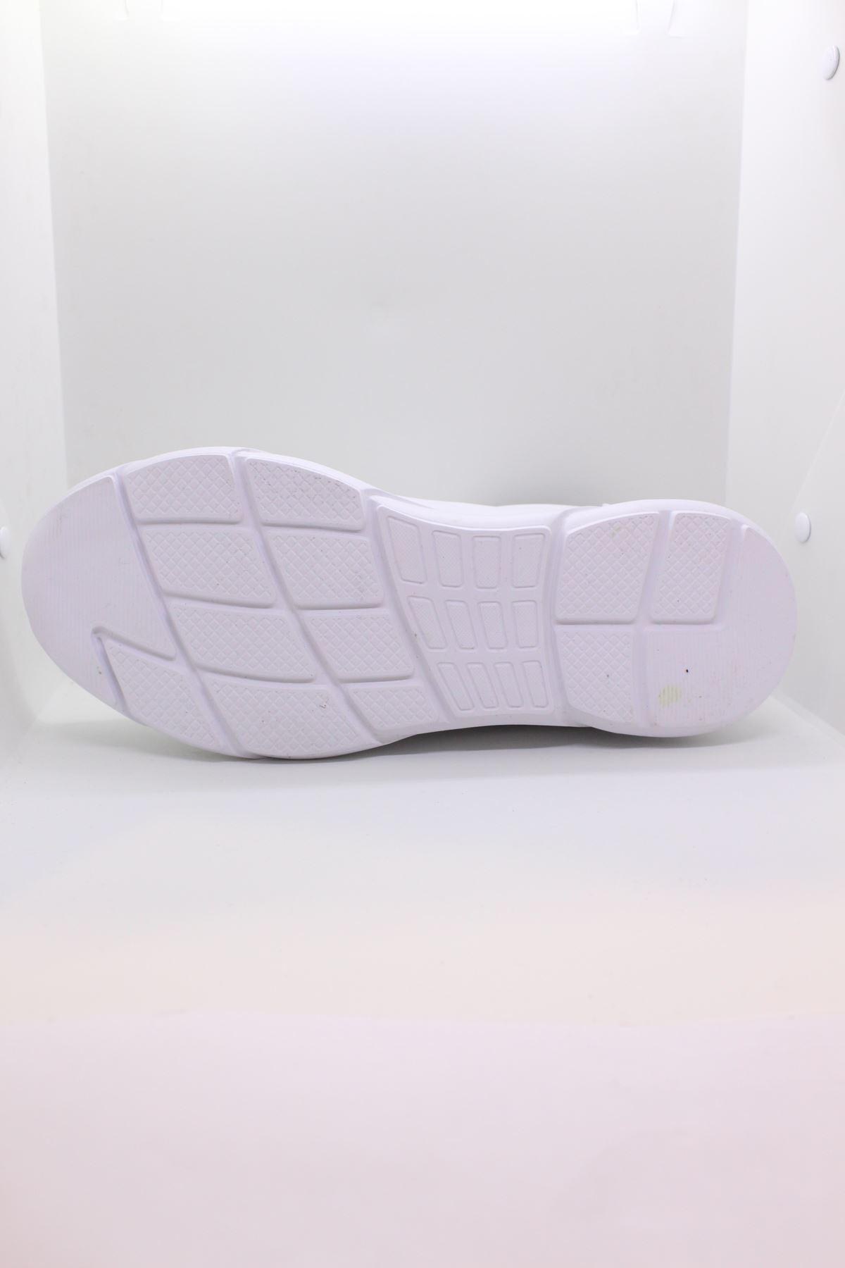Jump 24068 Beyaz Erkek Spor Ayakkabı