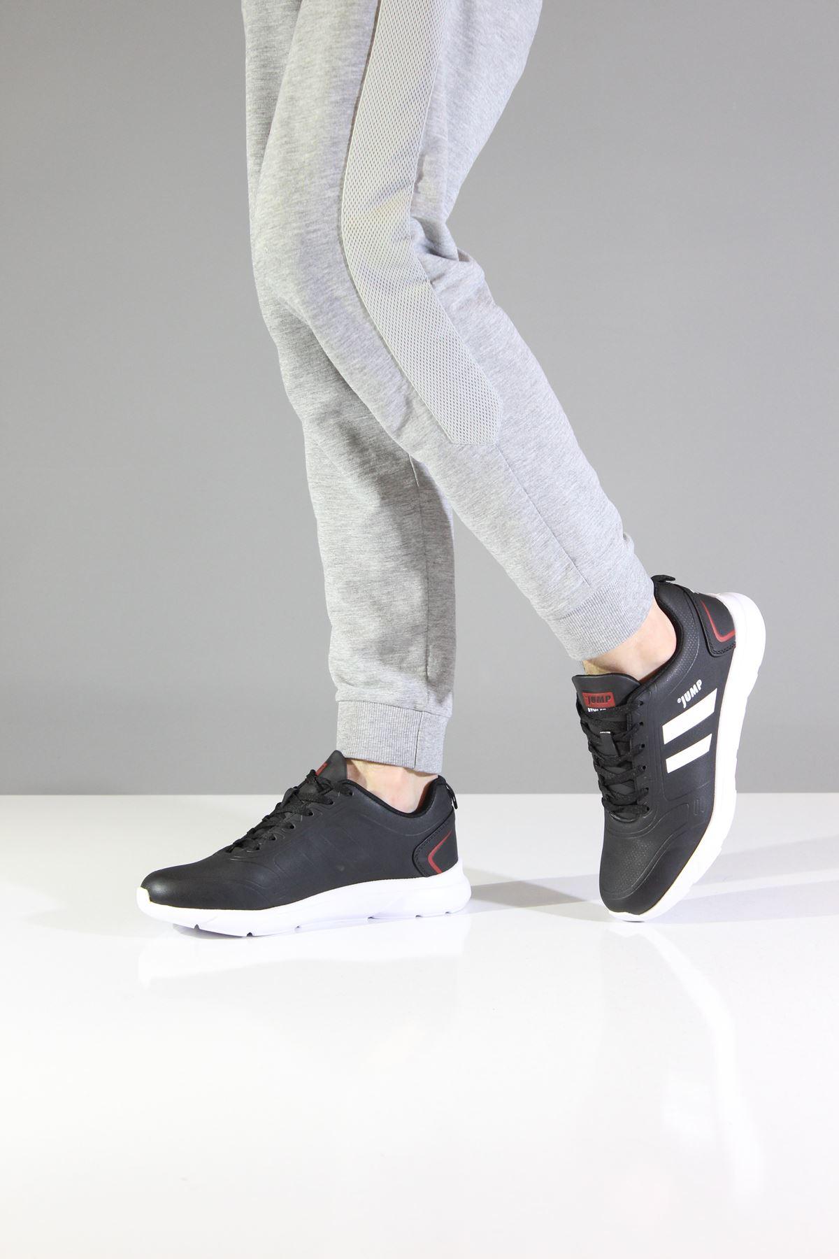 Jump 24068 Siyah Erkek Spor Ayakkabı