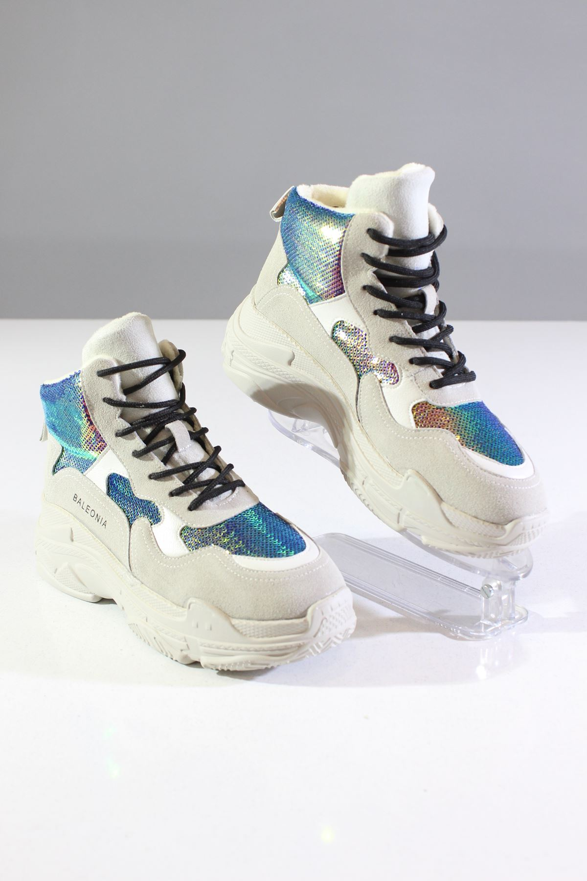Guja Bej 19K300  Kadın Sneakers Ayakkabı