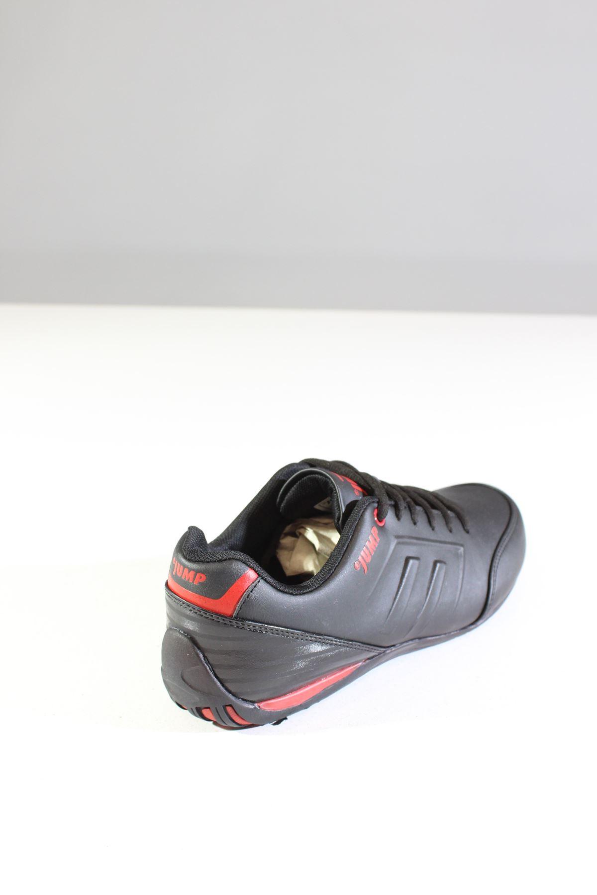 Jump 11743 Siyah Kırmızı Erkek Spor Ayakkabı