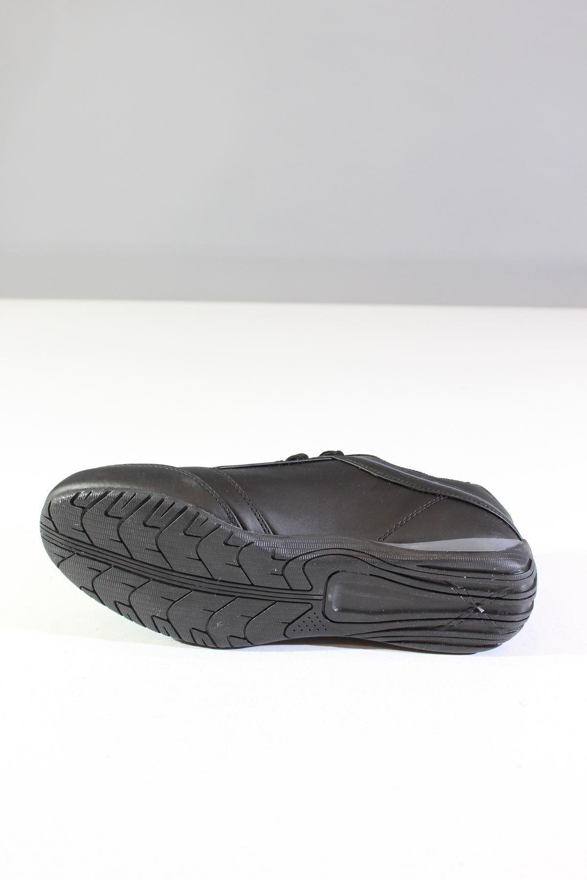 Wickers 2182 Siyah-Füme Erkek Spor Ayakkabı