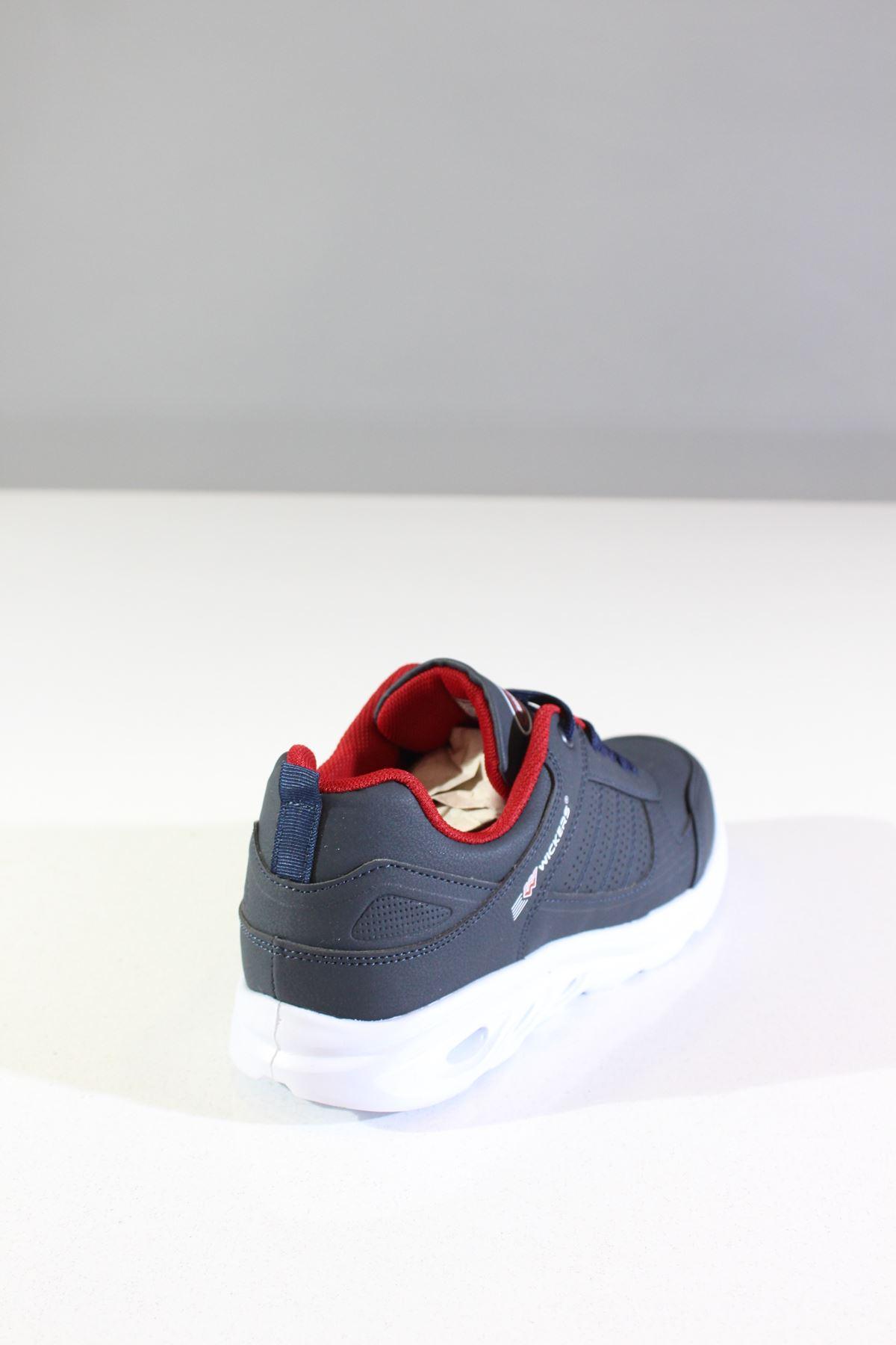 Wickers 2317 Laci-Kırmızı Erkek Spor Ayakkabı