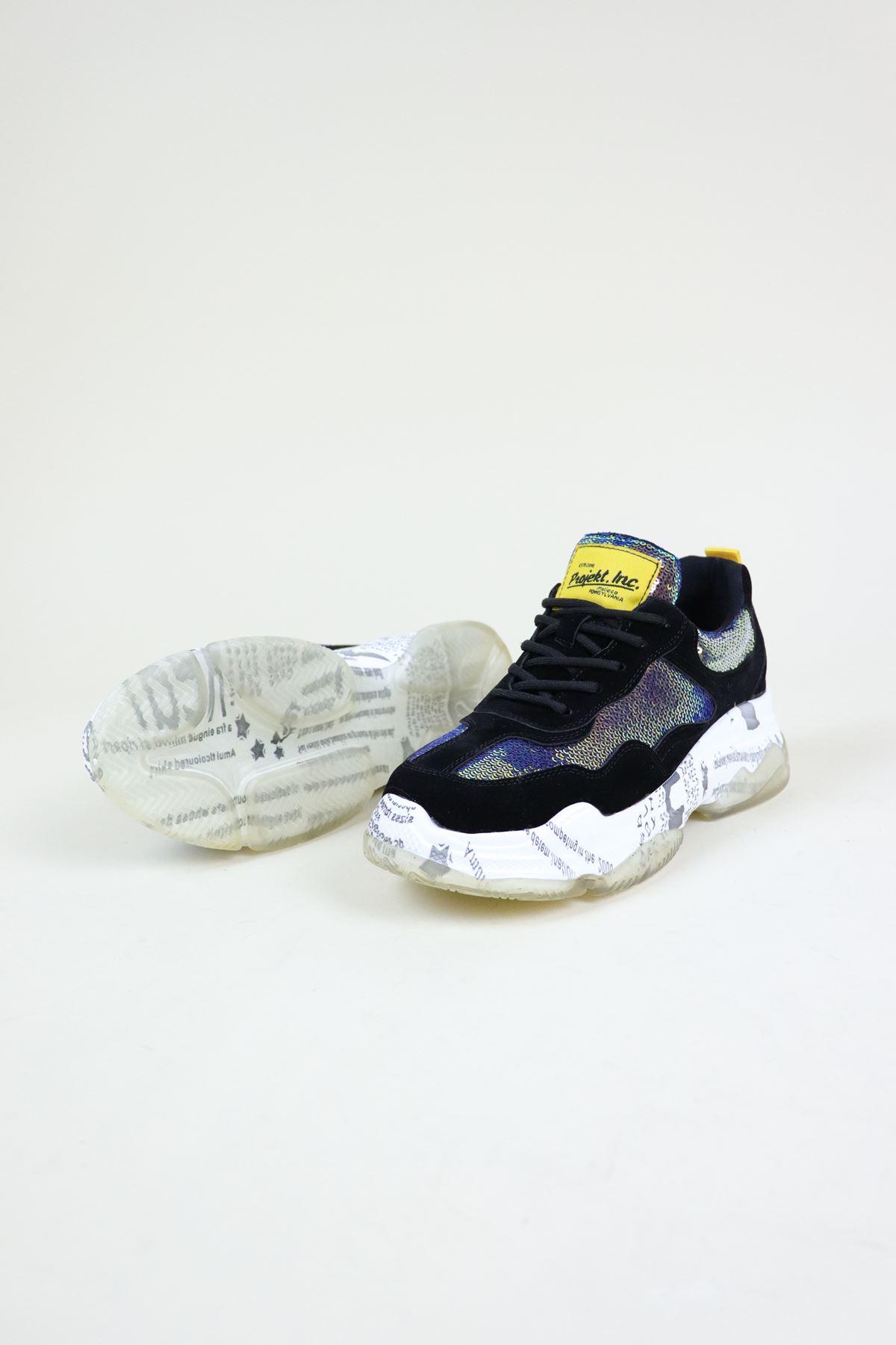 Guja 19K300-2 Siyah Kadın Sneaker Ayakkabı