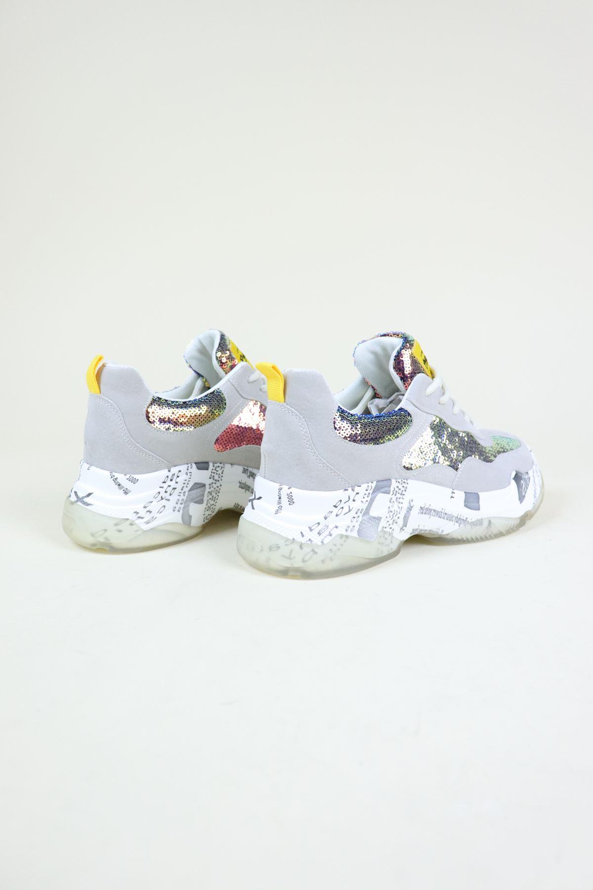 Guja 19K300-2 Bej Kadın Sneaker Ayakkabı