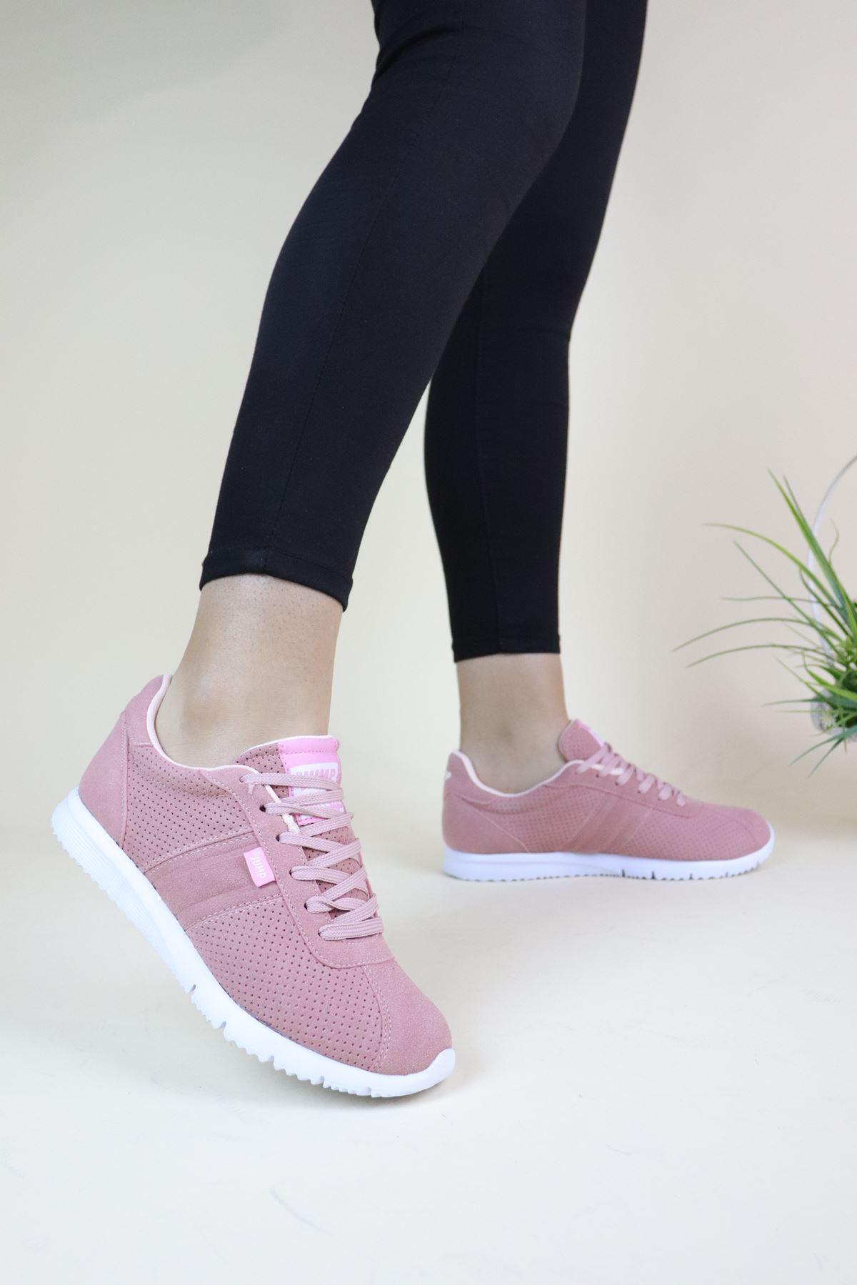 Jump 22211 Pudra Kadın Spor Ayakkabı