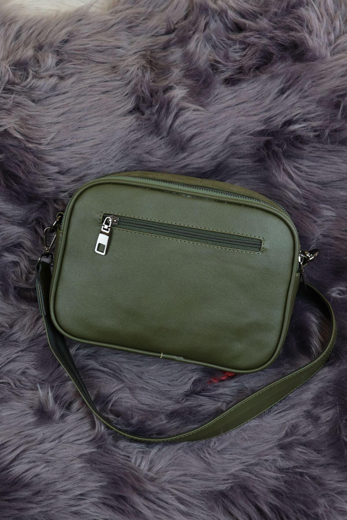 Sarach - K20RSC277 Yeşil Kadın Kol Çantası