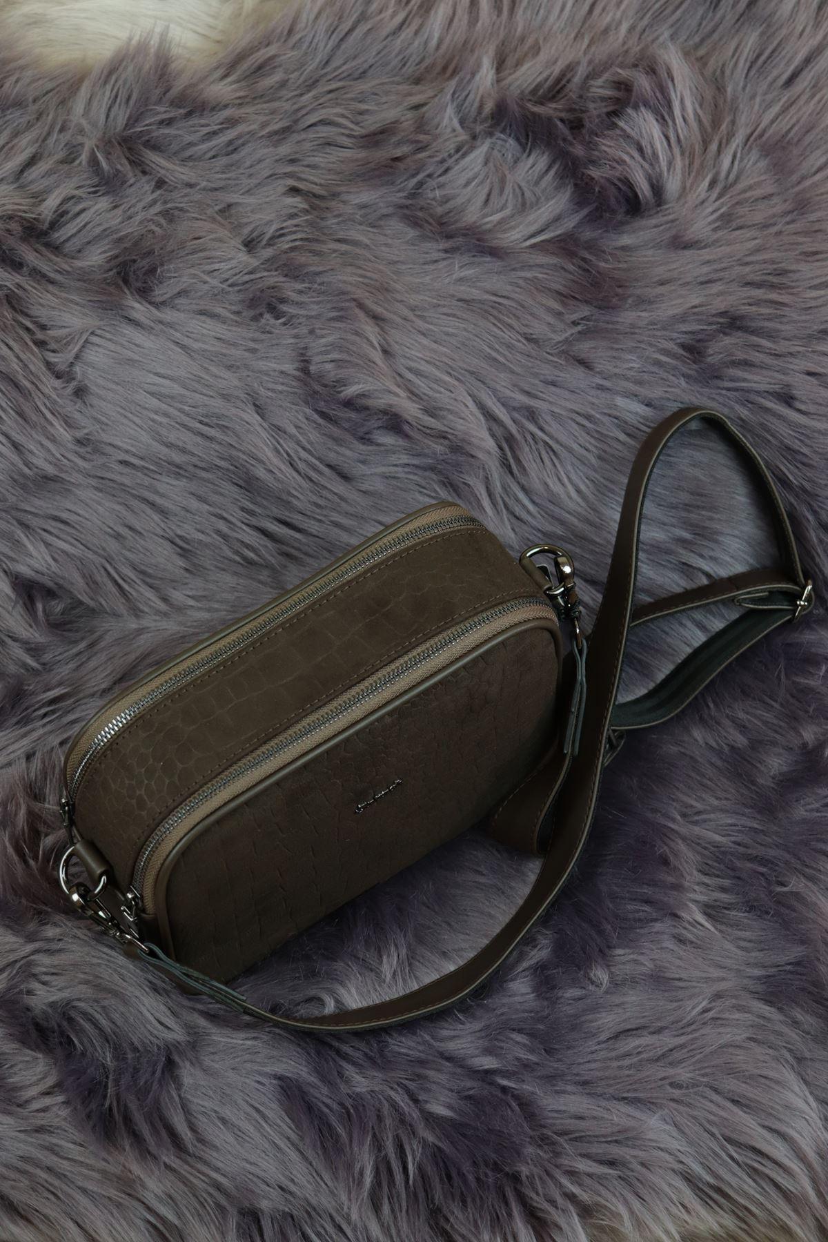Sarach - K20RSC277 Kahverengi Kadın Kol Çantası