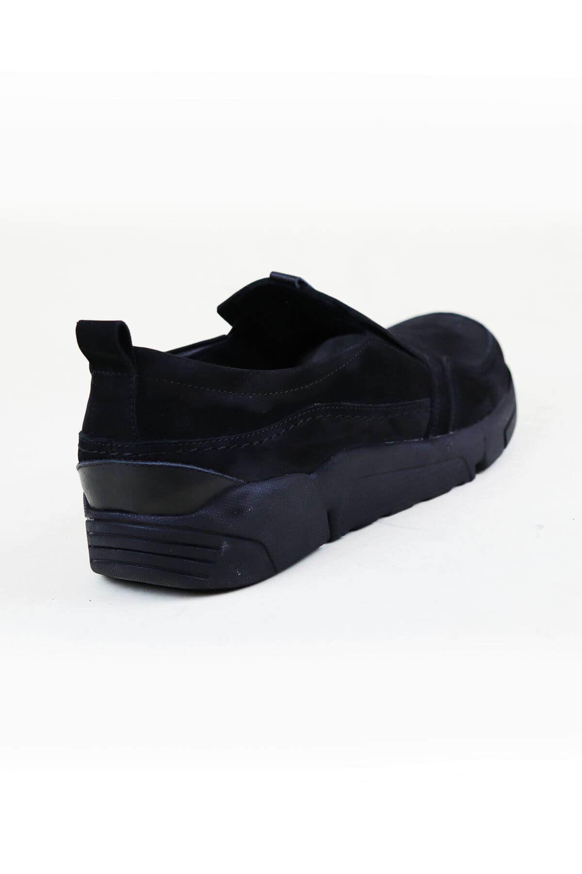 Free Foot 4103 Siyah Hakiki Deri Erkek Ayakkabısı