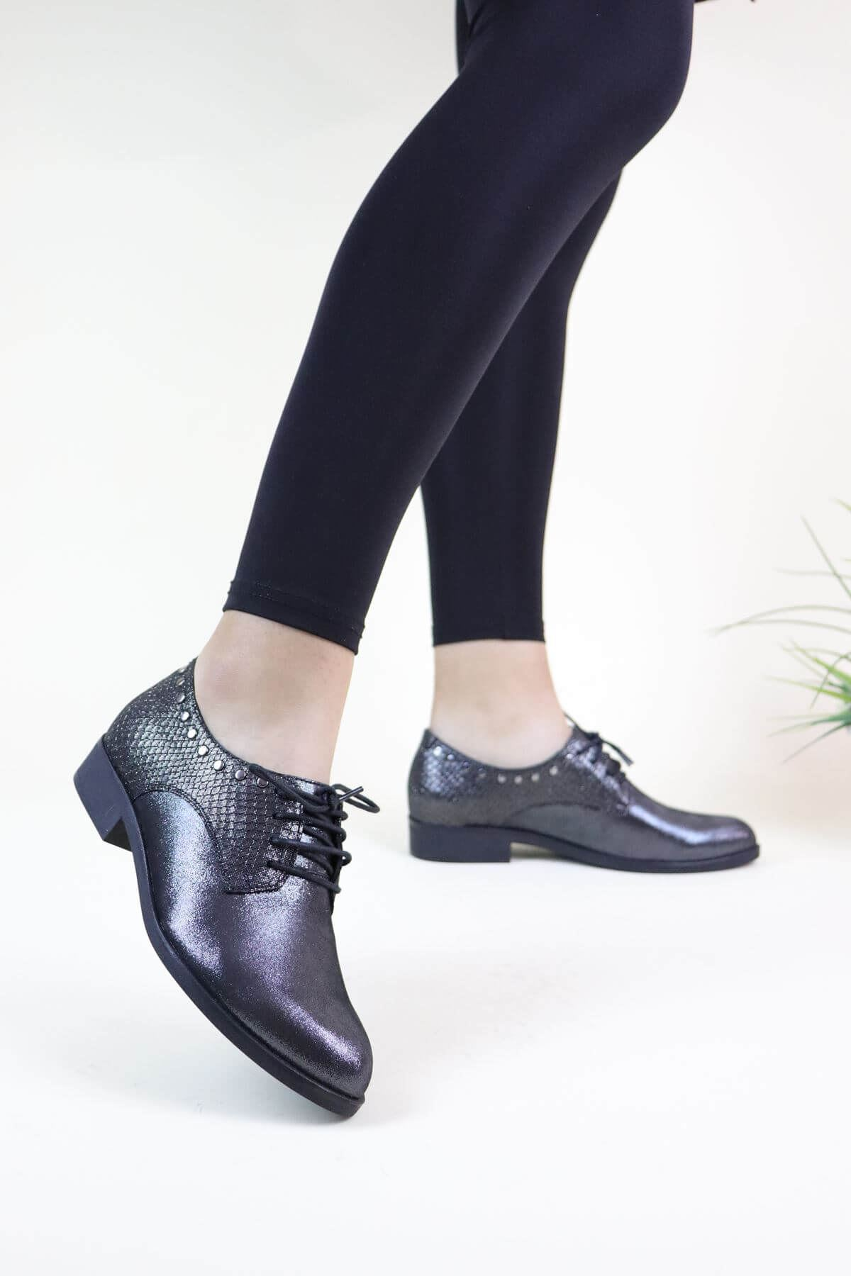 Venüs 4080-7571 Platin Kadın Ayakkabı
