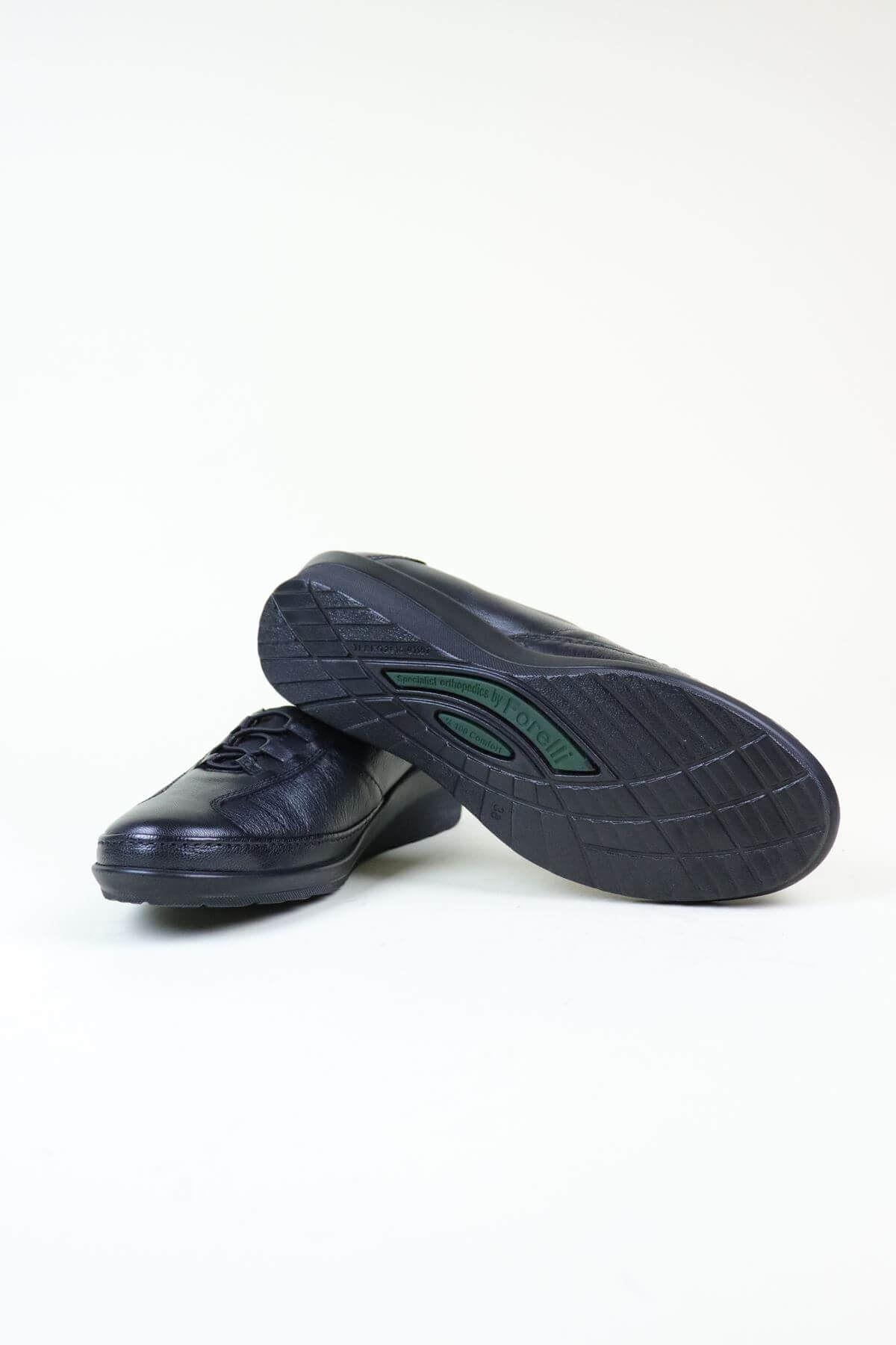 Forelli 26217 Ortapedik Siyah Kadın Ayakkabı
