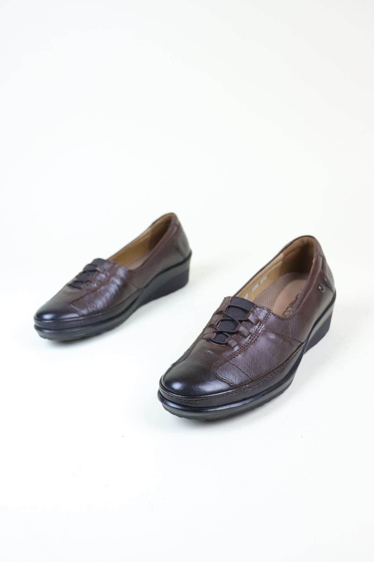Forelli 26217 Ortapedik  Taba Kadın Ayakkabı