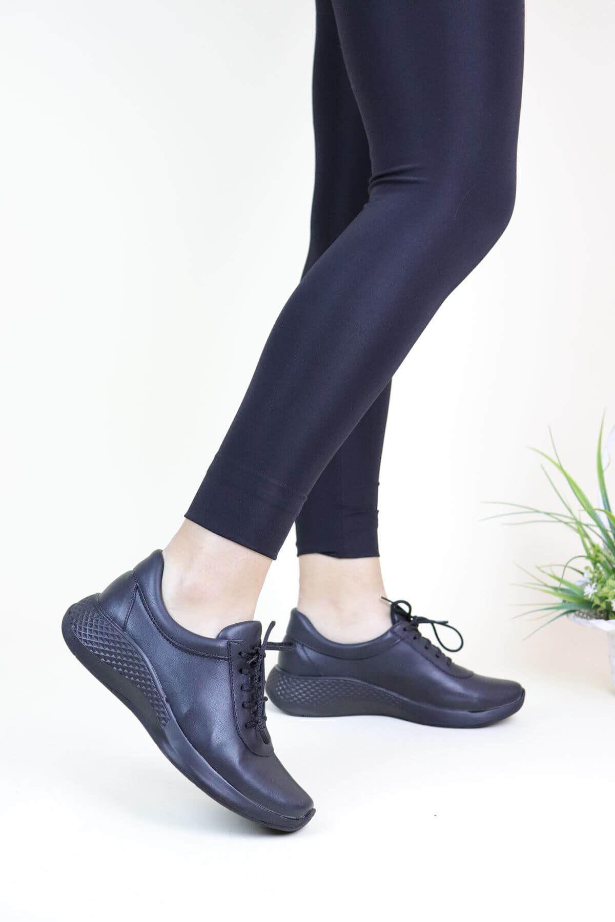 Trend Ayakkabı 0079 Siyah Kadın Casual