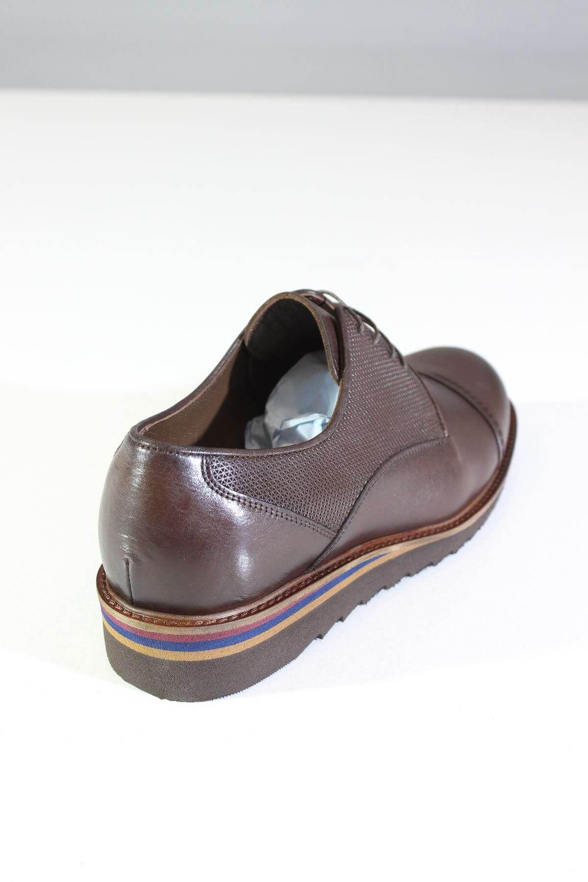 Trend Ayakkabı 0073 Kahverengi Erkek Casual Ayakkabı