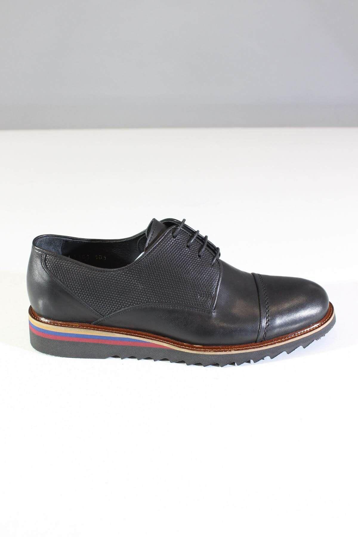 Trend Ayakkabı 0073 Siyah Erkek Casual Ayakkabı