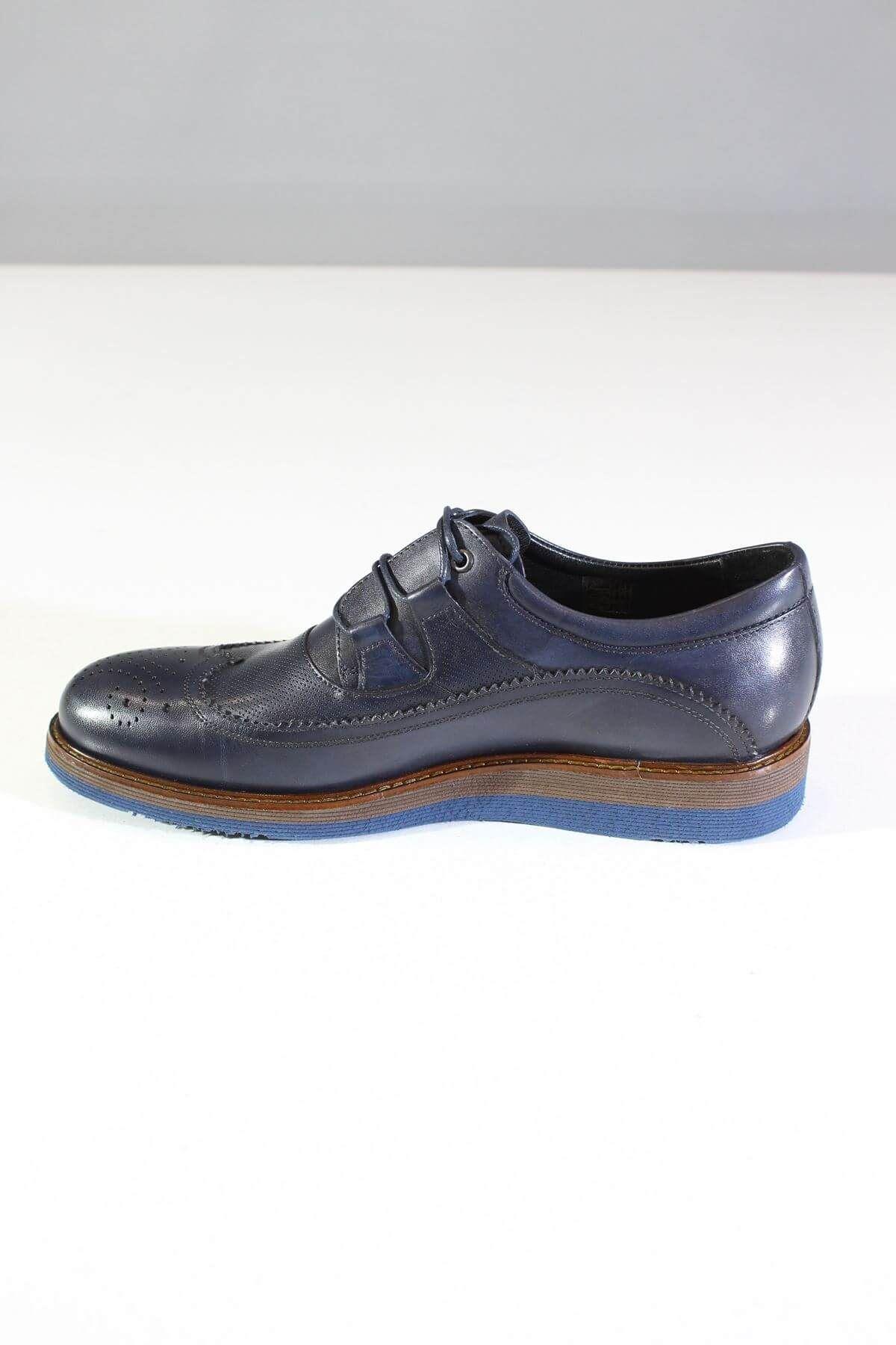 Trend Ayakkabı 0071 Lacivert Erkek Casual Ayakkabı