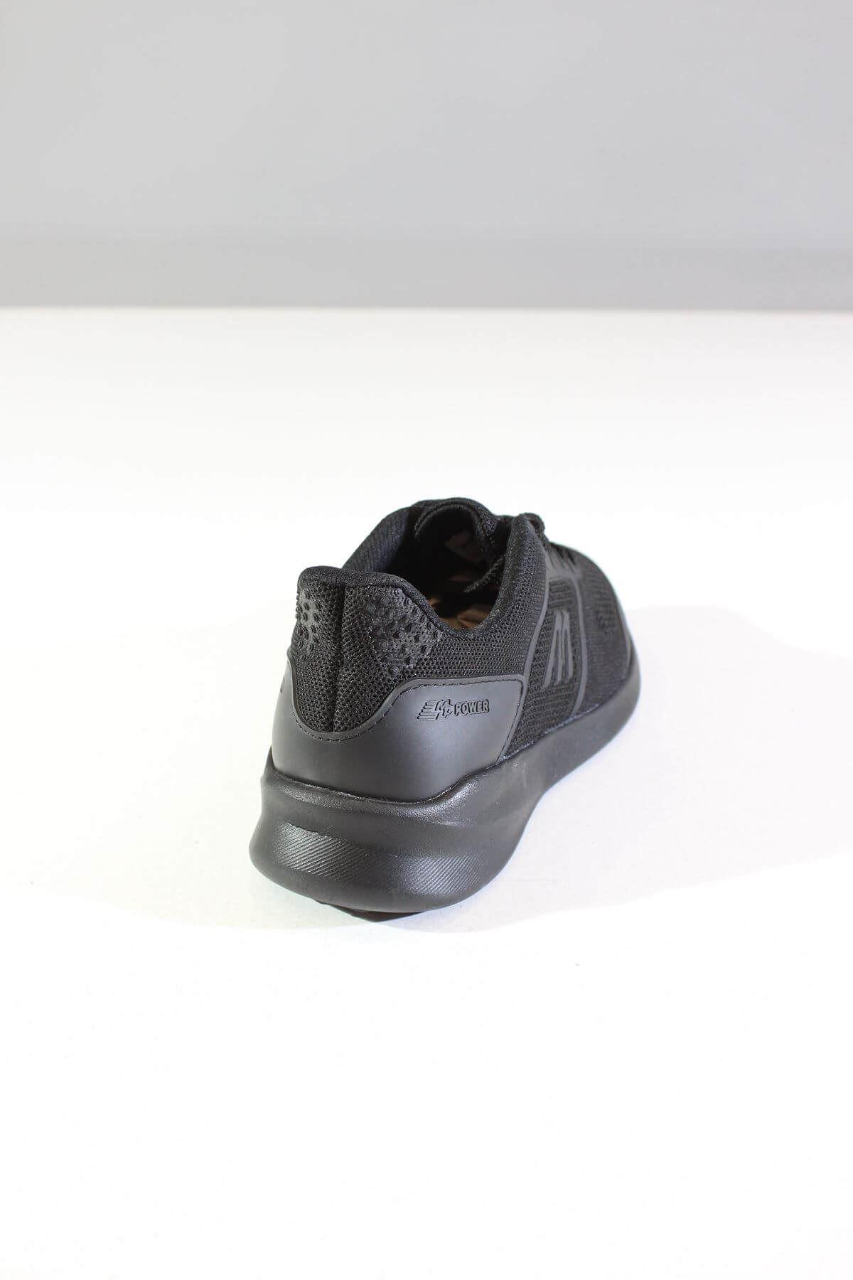 MP 191-1020 Siyah Erkek Spor Ayakkabı
