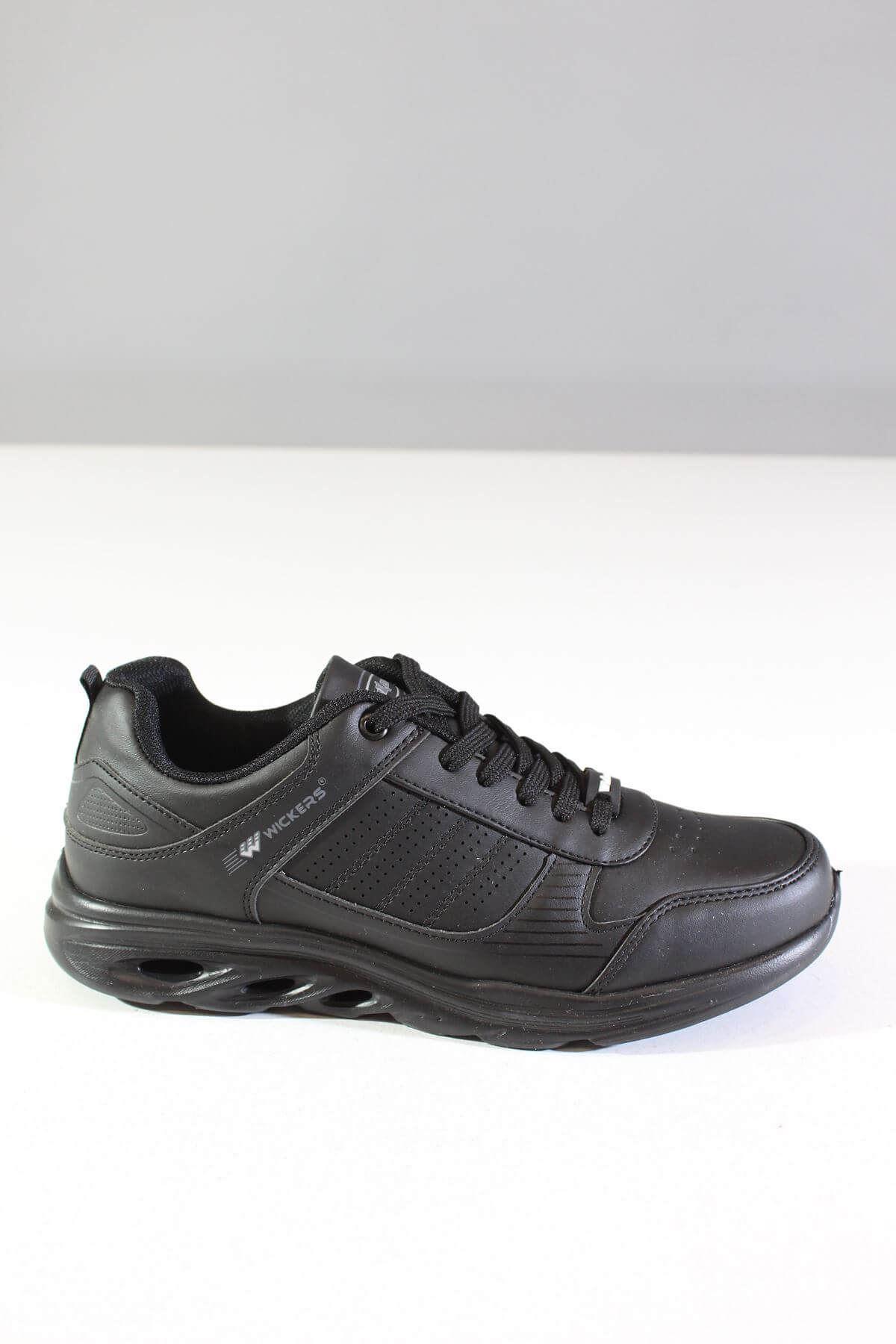 Wickers 2317 Siyah Erkek Spor Ayakkabı