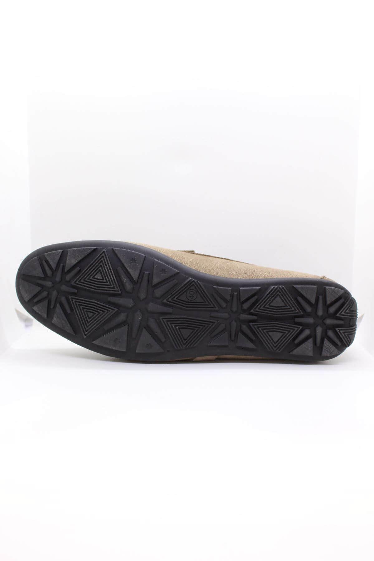 Darkwood  94507 Tokalı Hakiki Deri Süet Vizon Günlük Erkek Ayakkabı