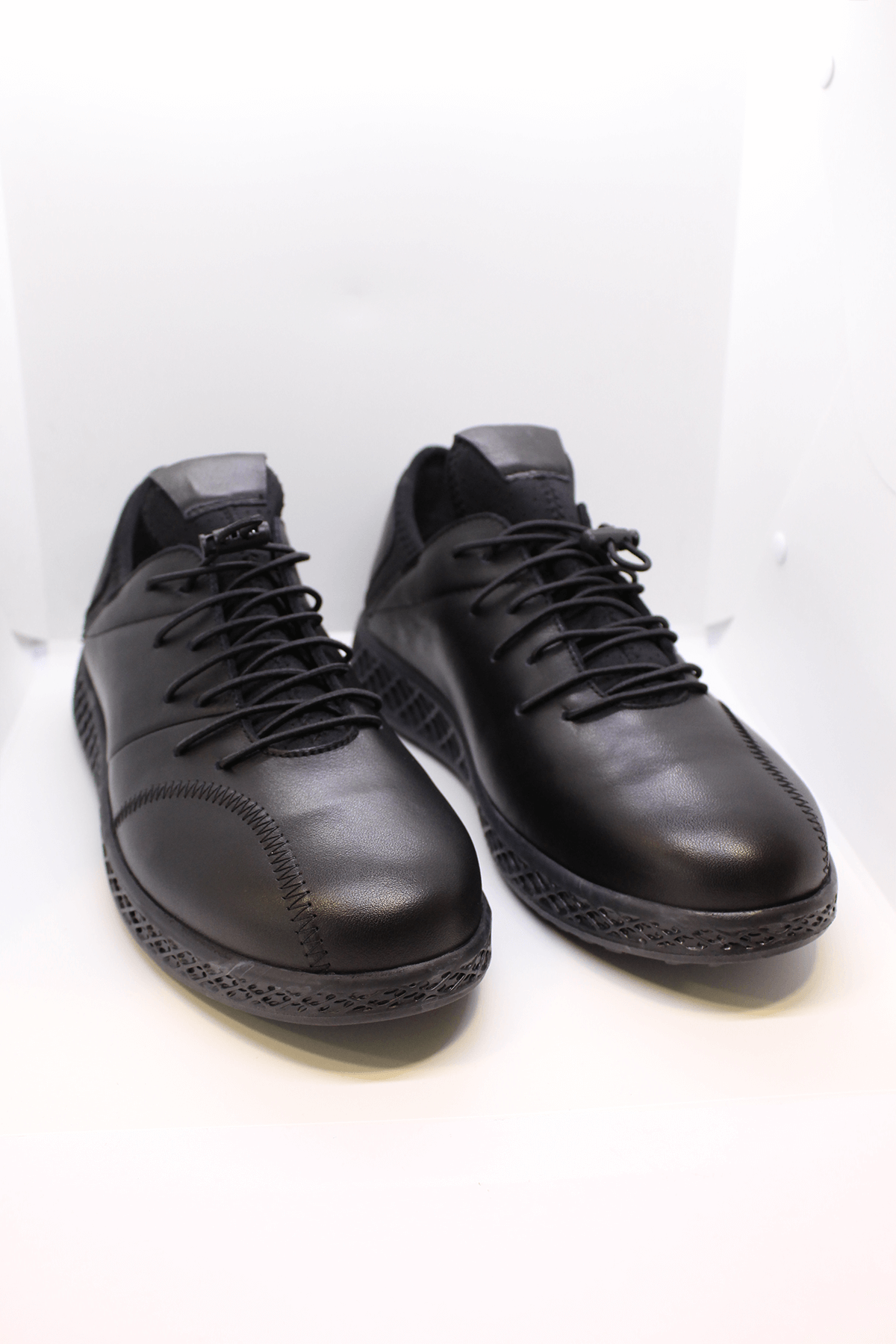 James Franco 4983 Hakiki Deri Siyah Casual Ayakkabı