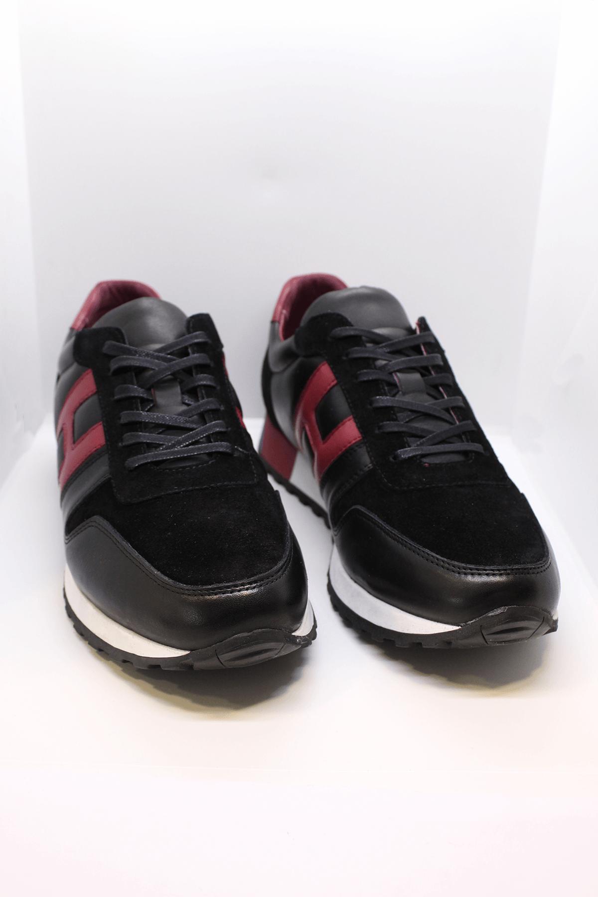 Pierre Cardin 612010 Hakiki Deri Siyah Casual Ayakkabı
