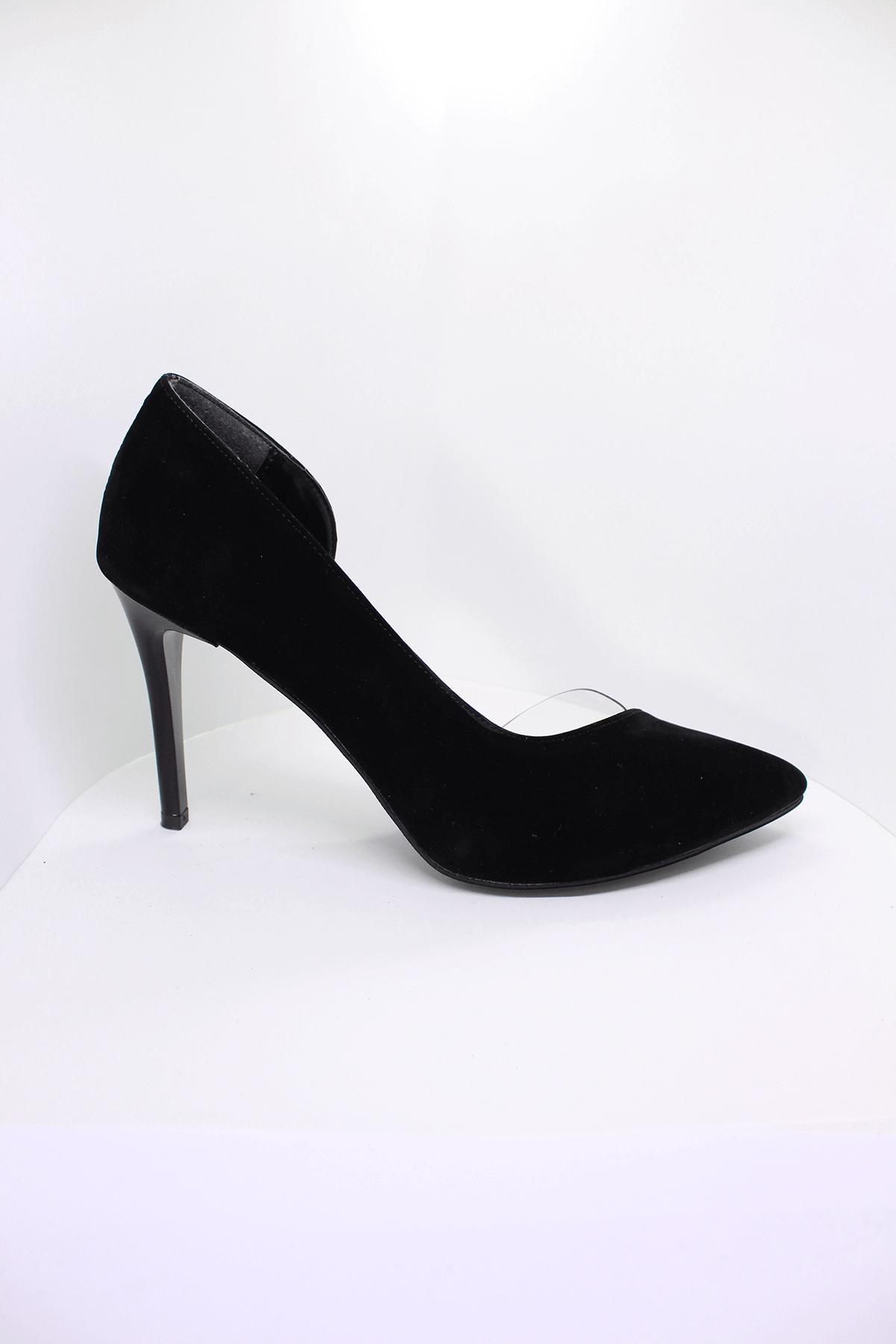 Siyah Stiletto Ayakkabı