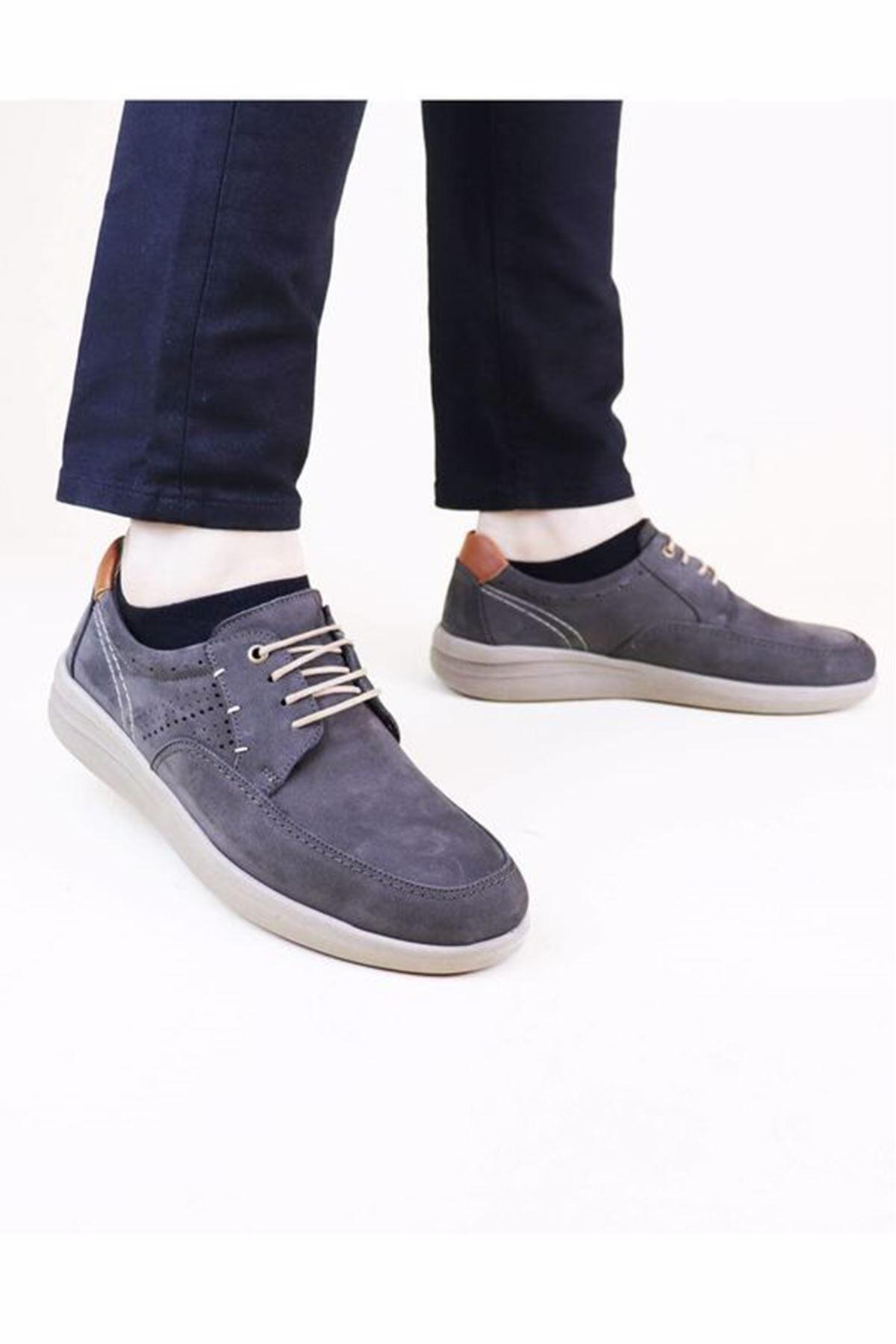 Free Foot 202041 Hakiki Deri Erkek Ayakkabısı