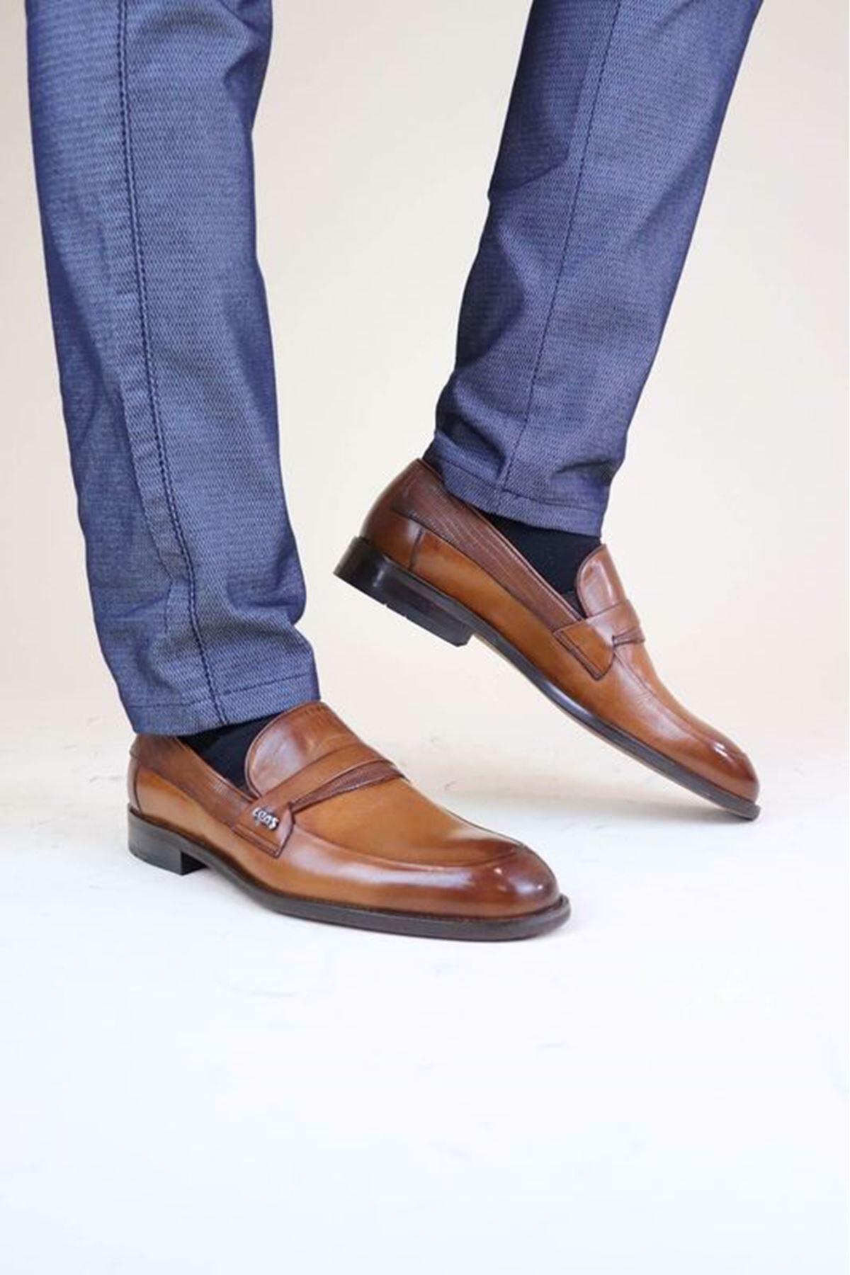 Epaş 1961313 Taba Klasik Erkek Ayakkabı