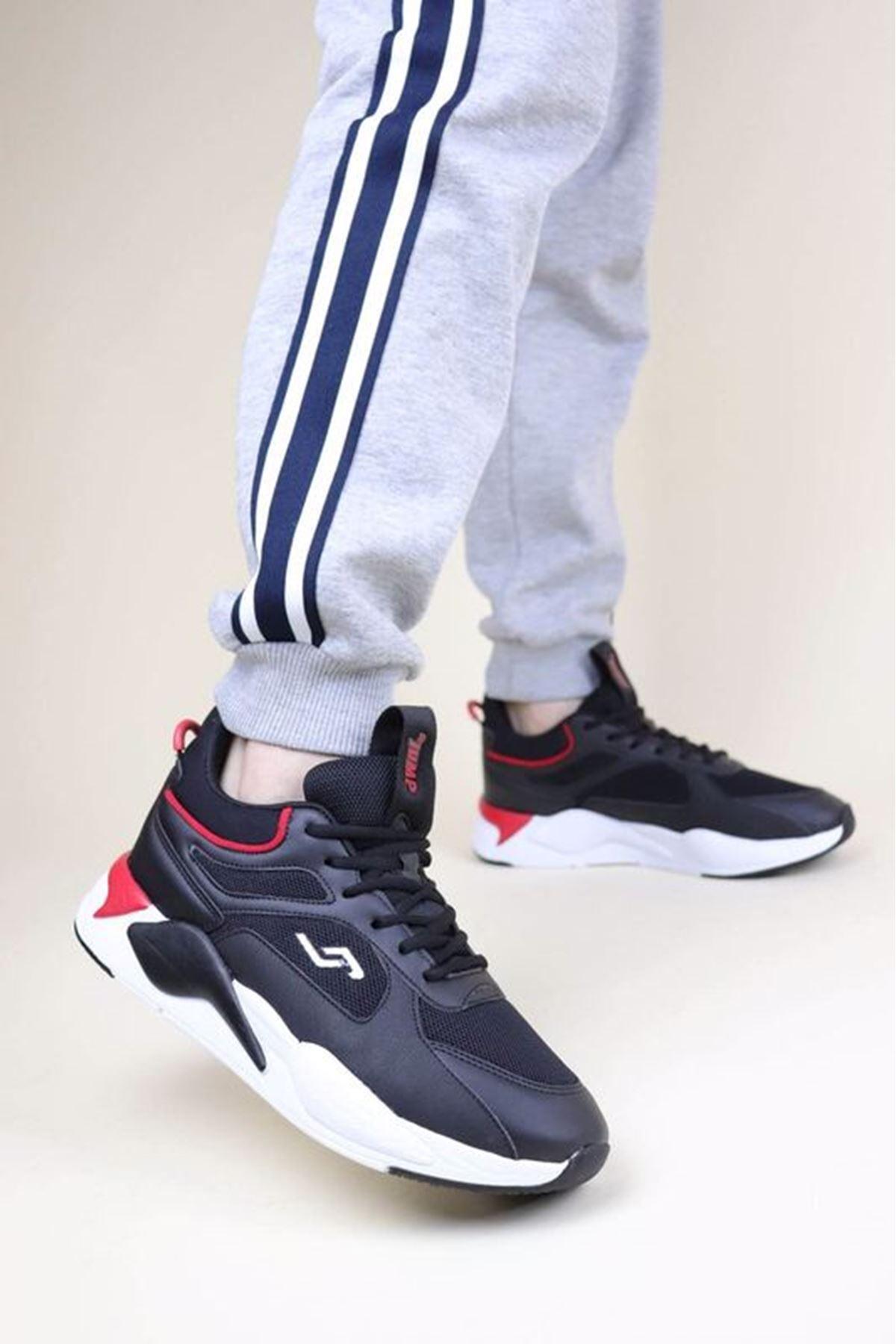 Jump 24770 Siyah Erkek Spor Ayakkabı