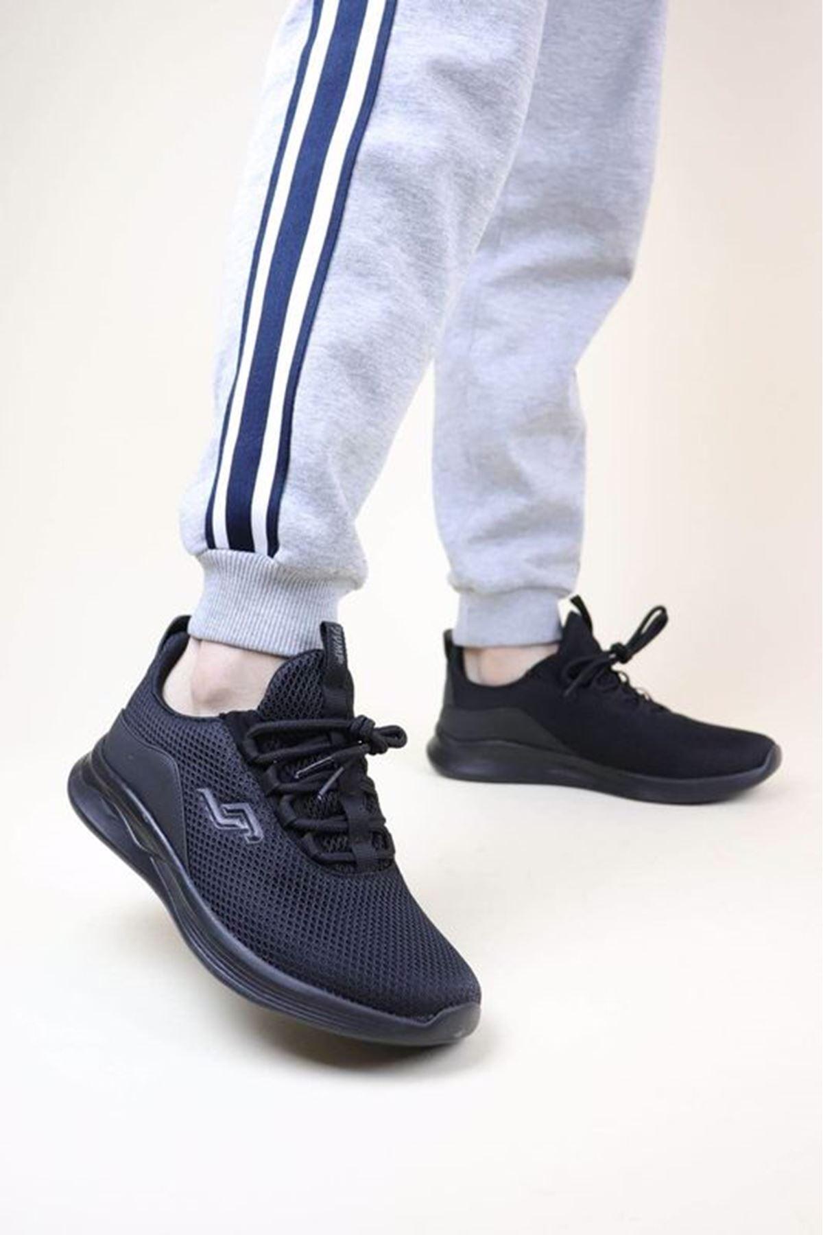 Jump 24784 Siyah Erkek Spor Ayakkabı