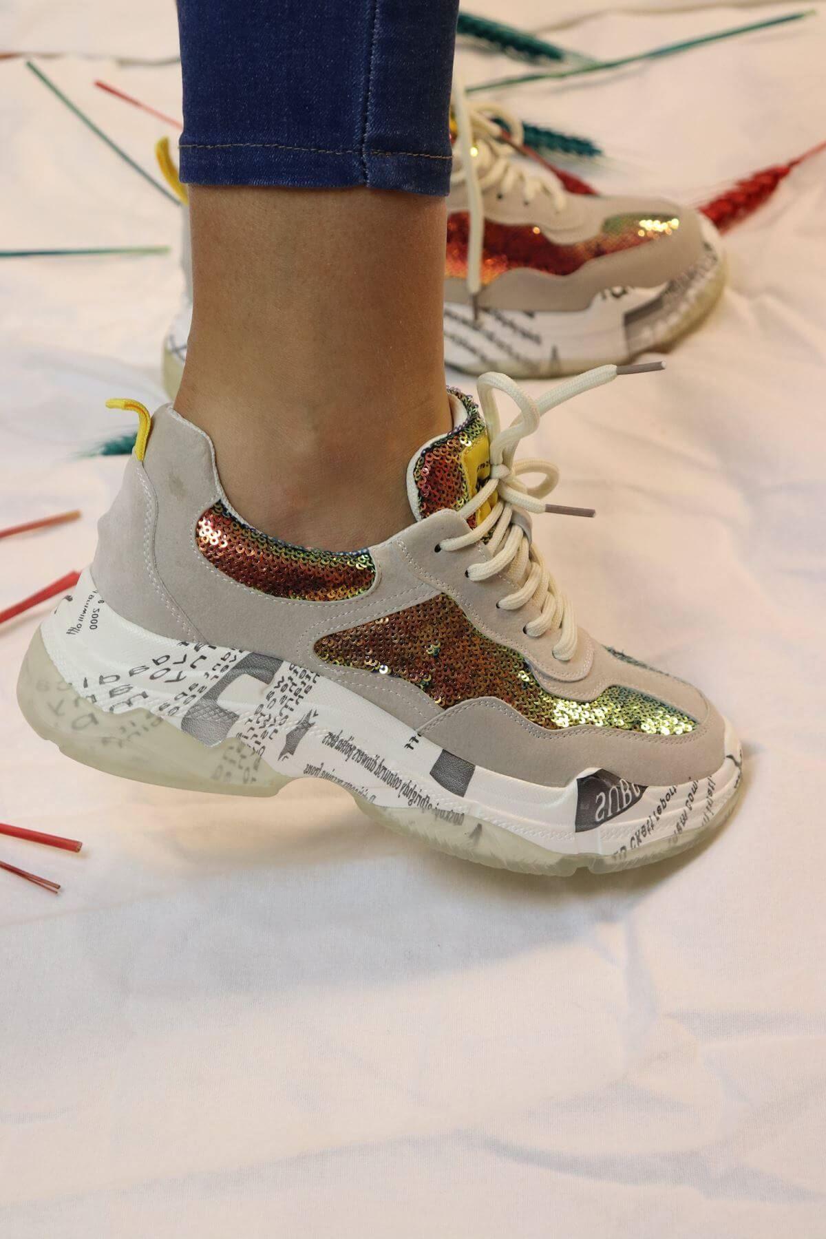 Guja - 19K300-2 Bej Kadın Sneakers