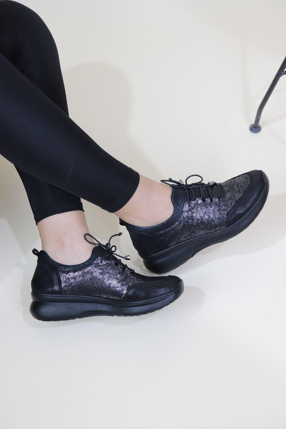 Venüs 19017071 Siyah Kadın Ayakkabı