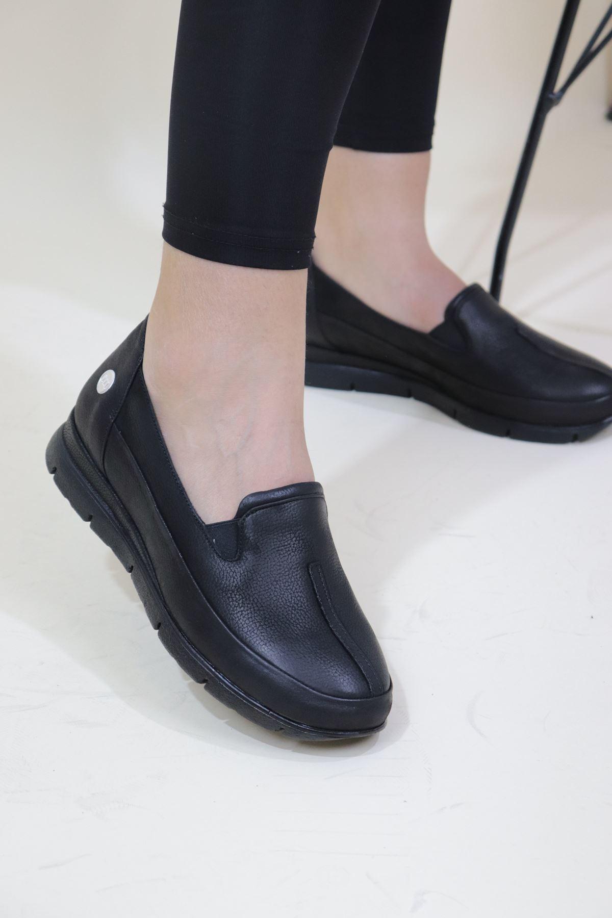 Mammamia - D20KA-735-B Siyah Kadın Ayakkabı