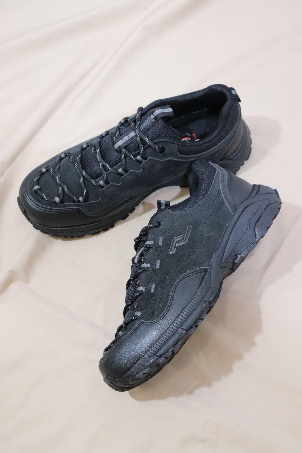 JUMP - 25700 Siyah Erkek Spor Ayakkabısı