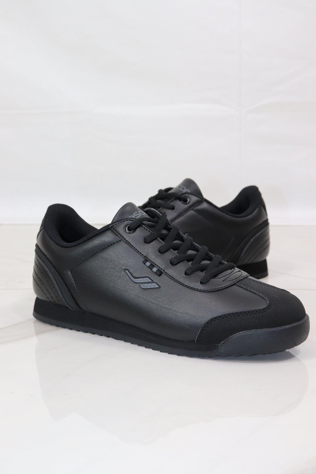 LESCON - WİNNER-3 Siyah Erkek Spor Ayakkabısı