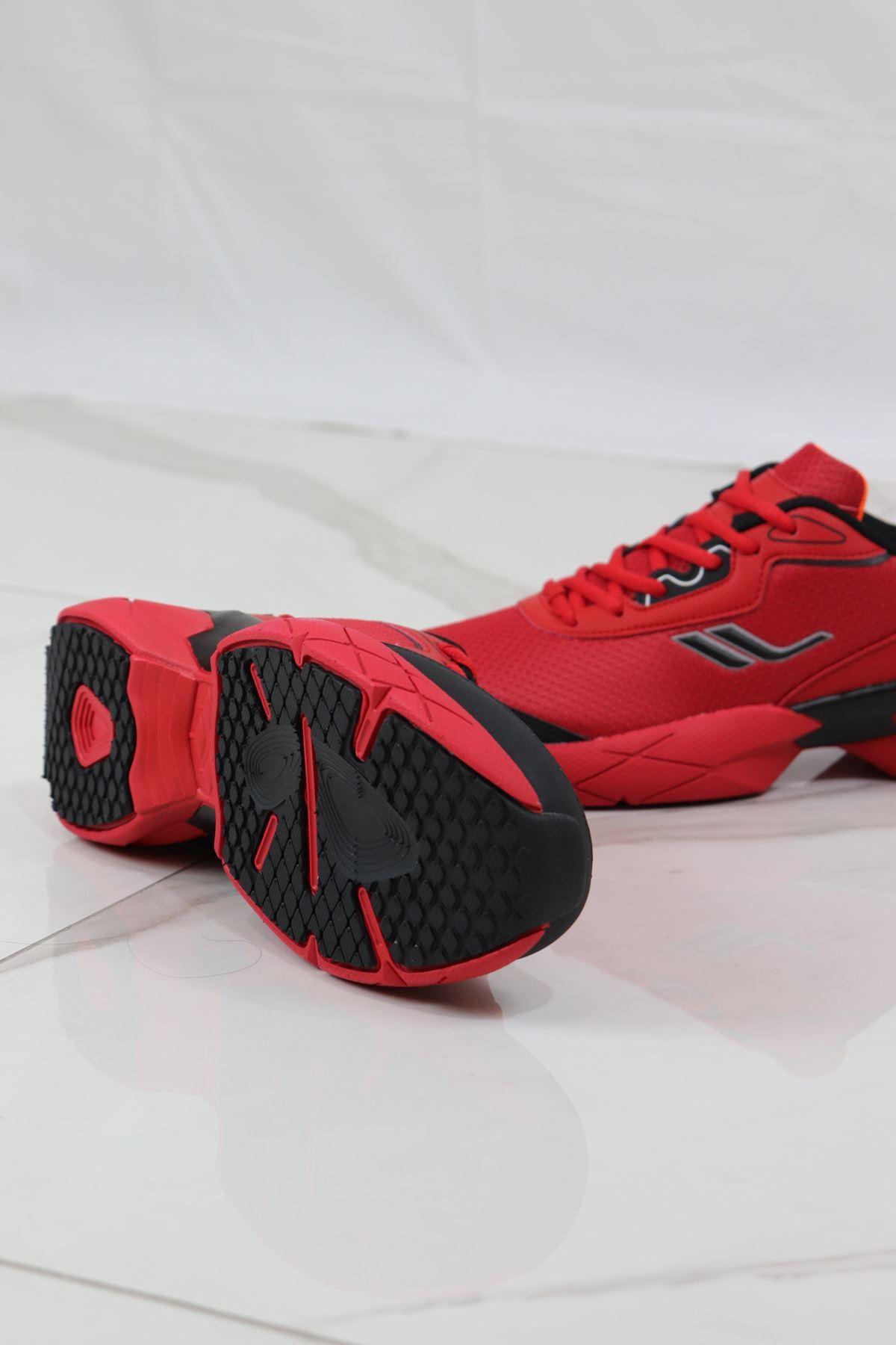 LESCON - EASYSTEP CHROME Kırmızı Erkek Spor Ayakkabısı