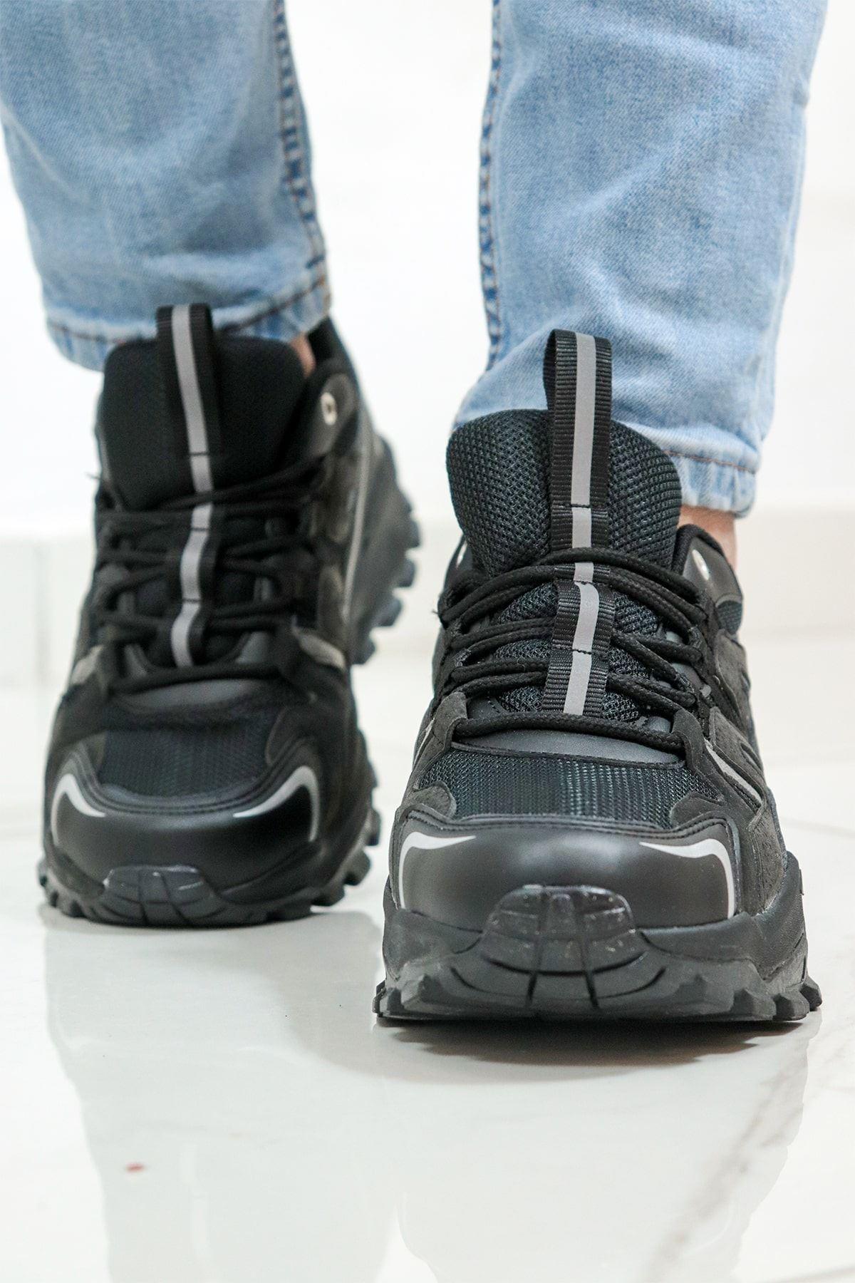 Jump - 25837 - Erkek Kalın Taban Spor Ayakkabı