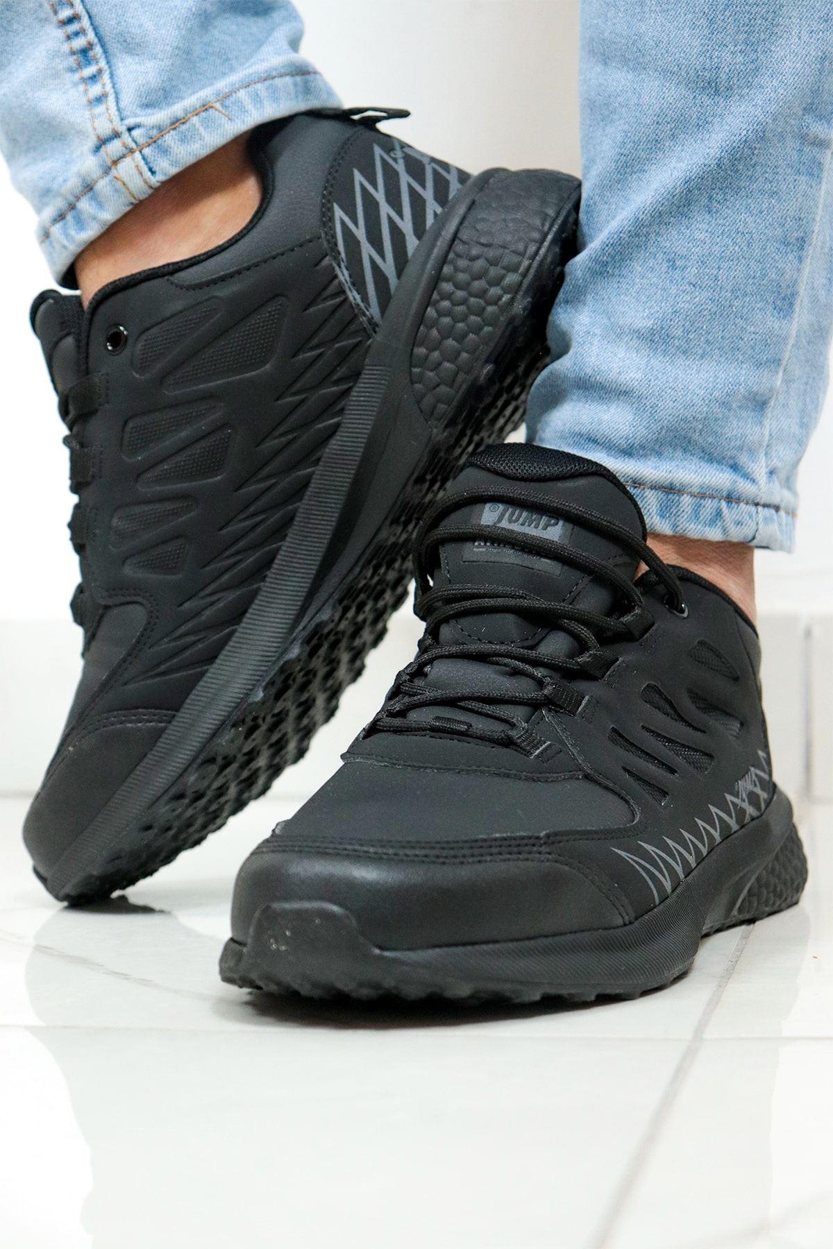 Jump - 25715 - Siyah Erkek Spor Ayakkabısı