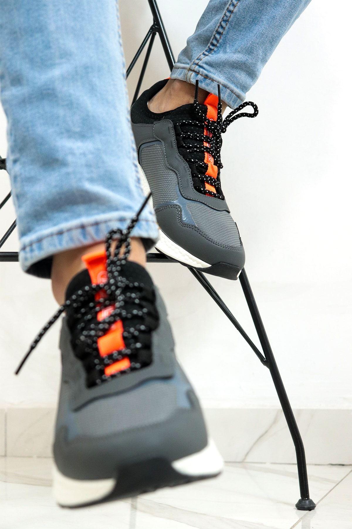 Jump - 24699 Gri Erkek Spor Ayakkabısı
