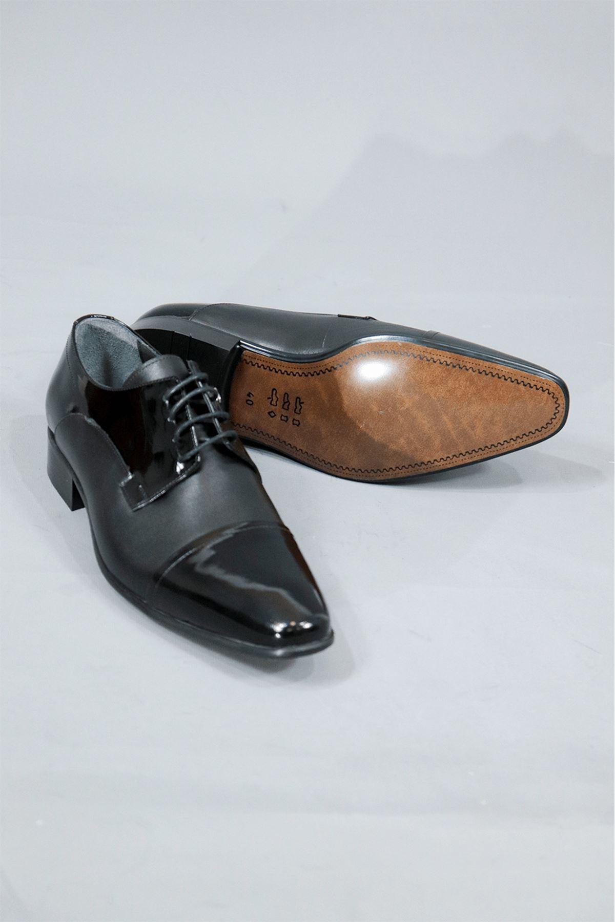 Fosco - 2239-4 Mr Klasik Enjoy Rugan Ayakkabı