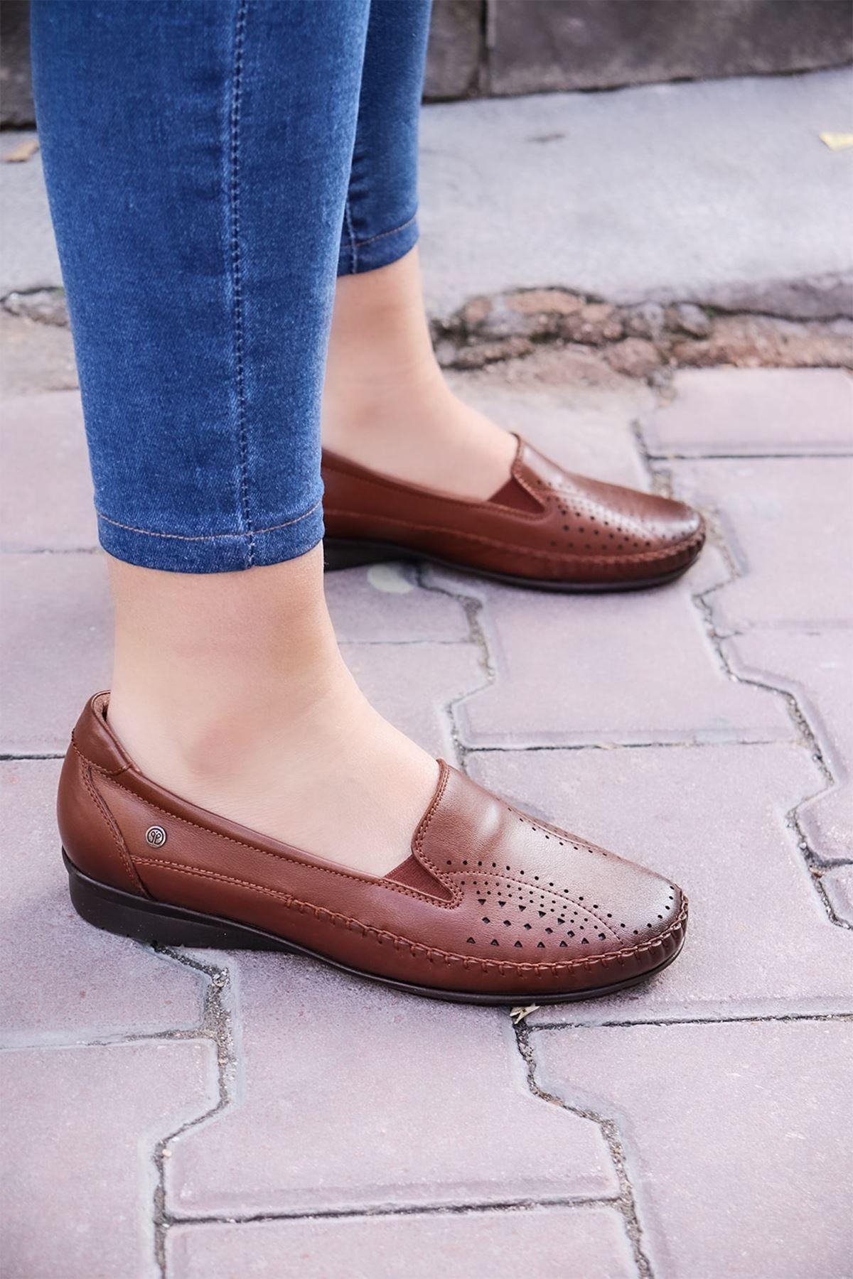 Forelli - 51301 Taba Kadın Ayakkabısı
