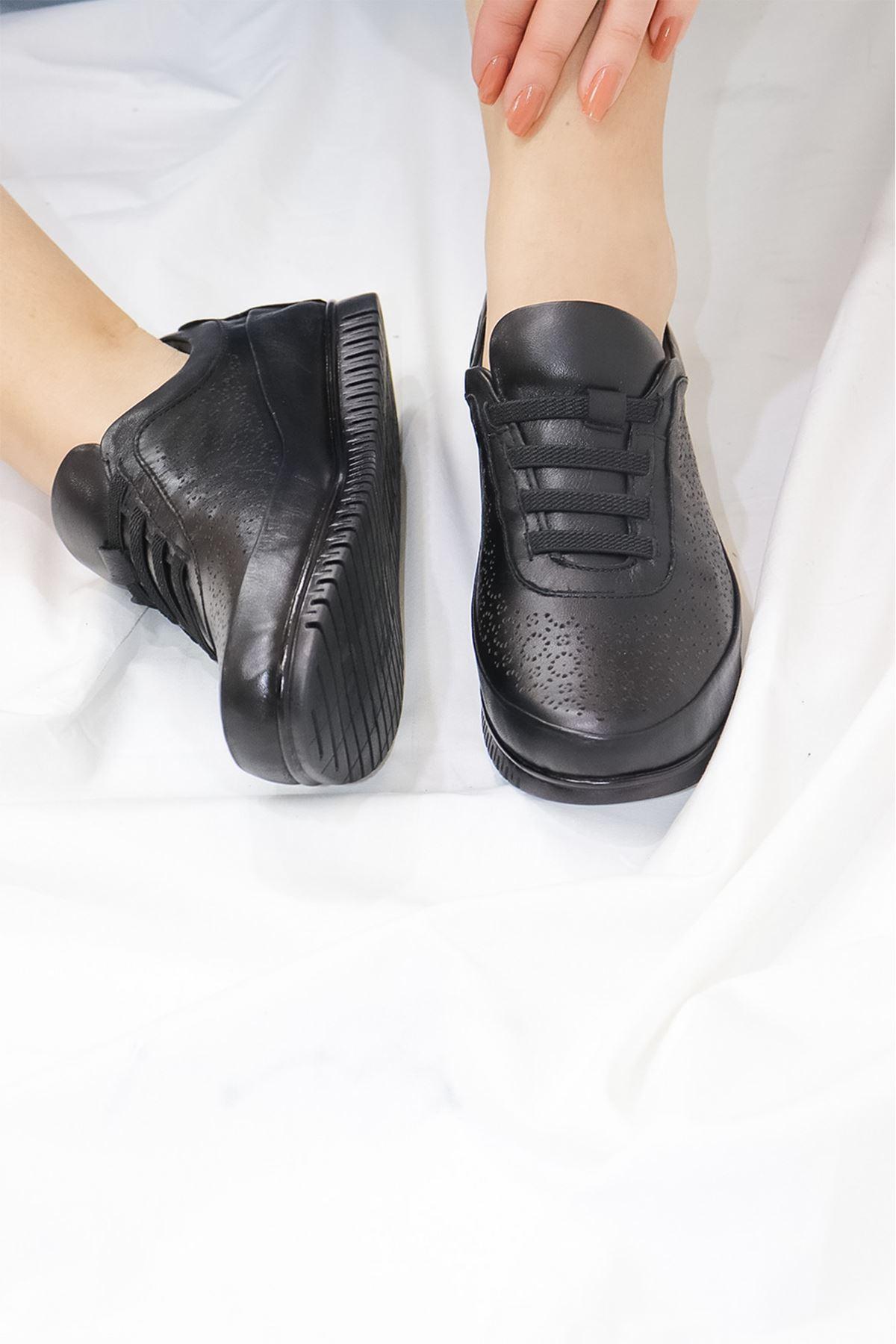 Mammamia - D21YA - 125 Siyah Kadın Ayakkabısı