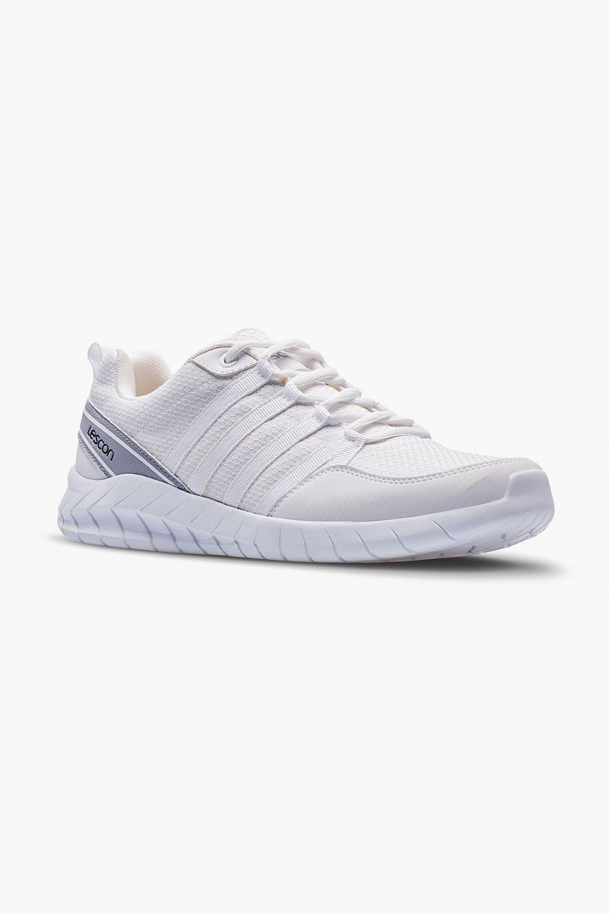 Lescon - Flex Legend-2 Beyaz Spor Kadın Ayakkabısı