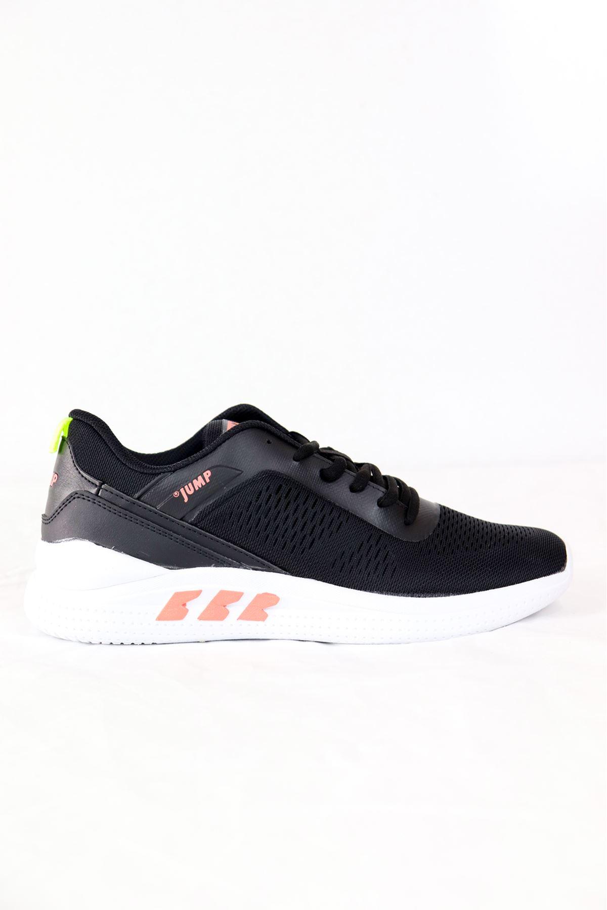 Jump - 26226 - Siyah Spor Kadın Ayakkabısı