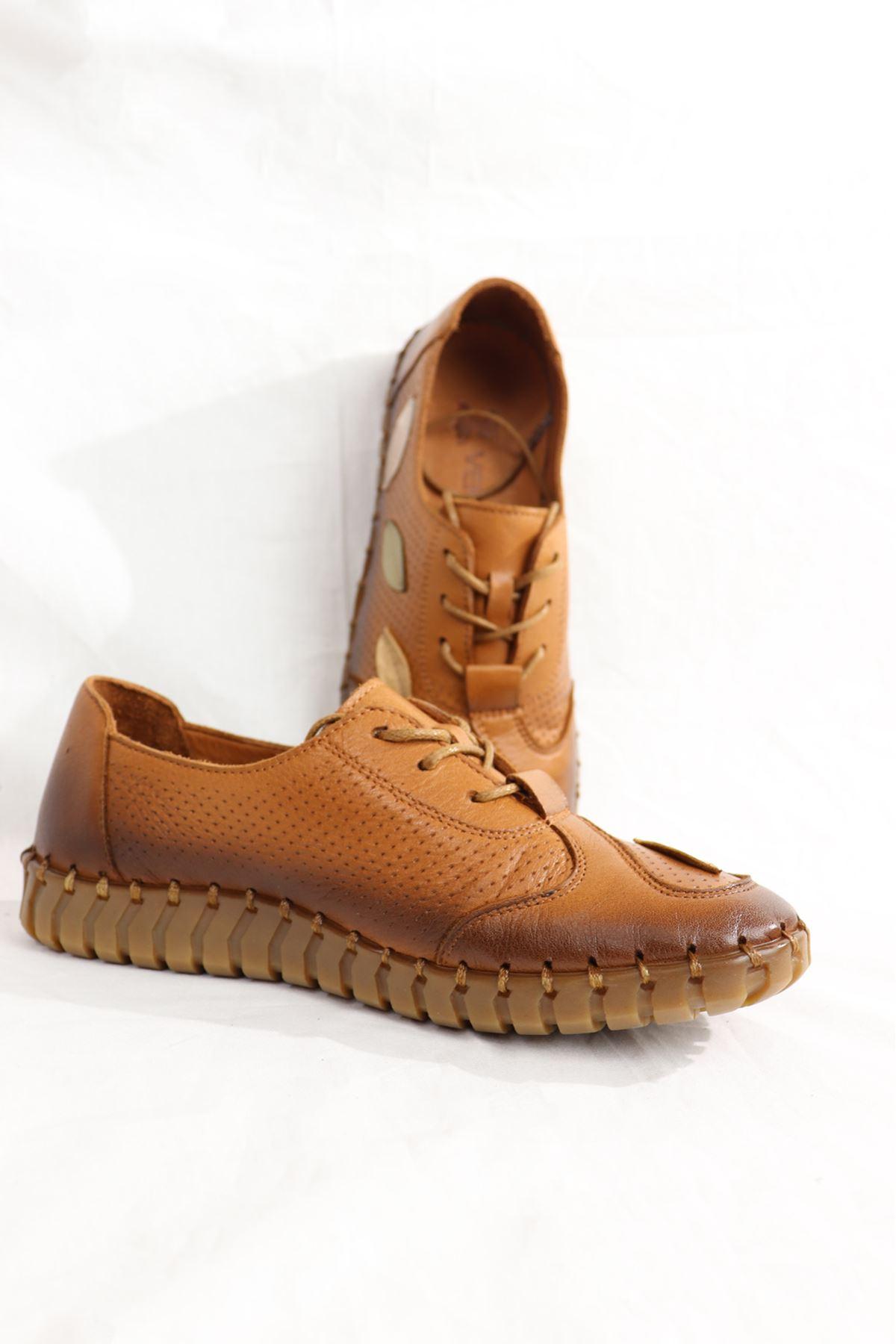 Venüs - 201079Y - Taba Kadın Ayakkabısı