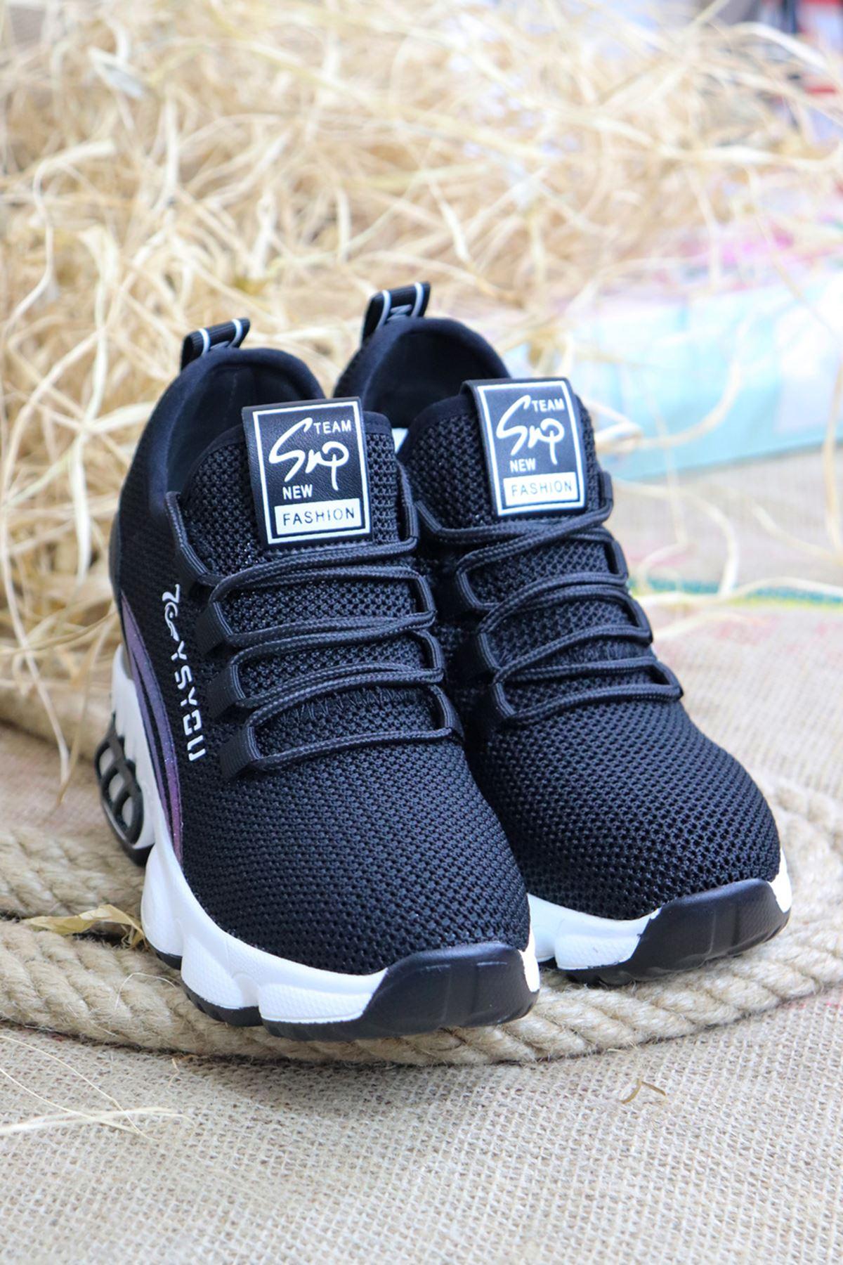 Guja - 21Y310-2 Siyah Kadın Spor Ayakkabısı