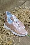 Libero - Dİ2018 Pudra Faylon Simli Kadın Ayakkabısı